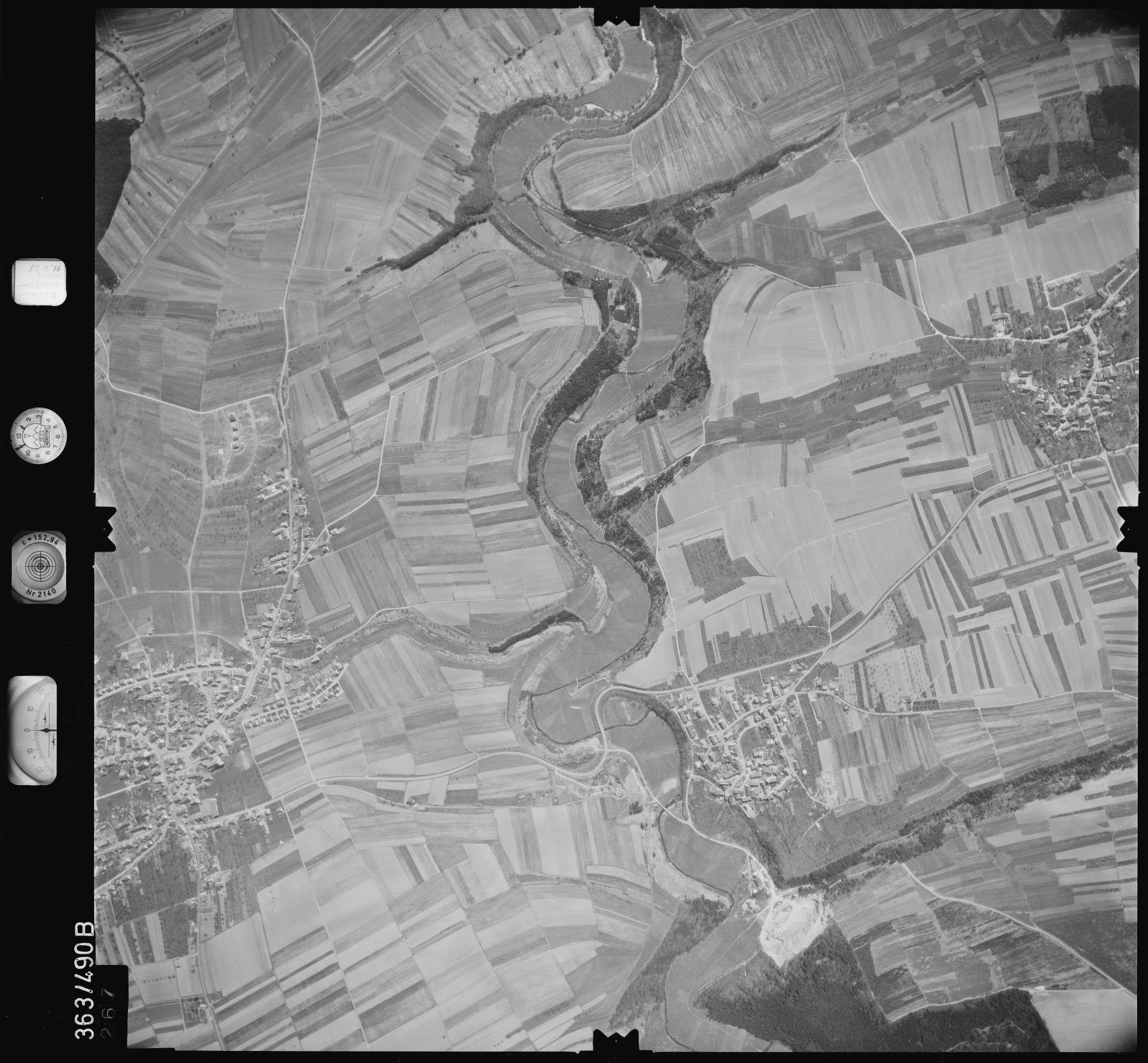 Luftbild: Film 45 Bildnr. 267, Bild 1
