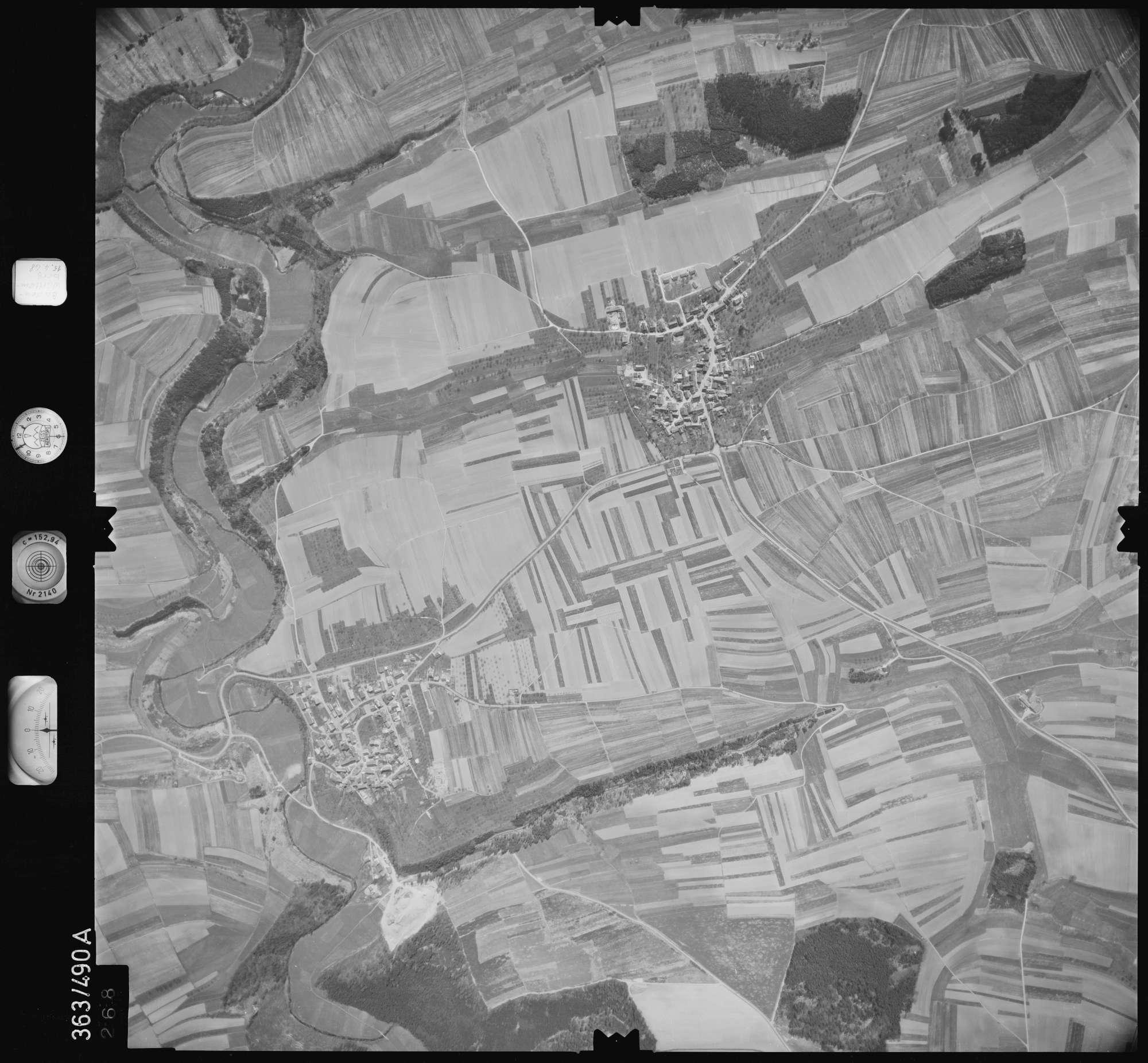 Luftbild: Film 45 Bildnr. 268, Bild 1