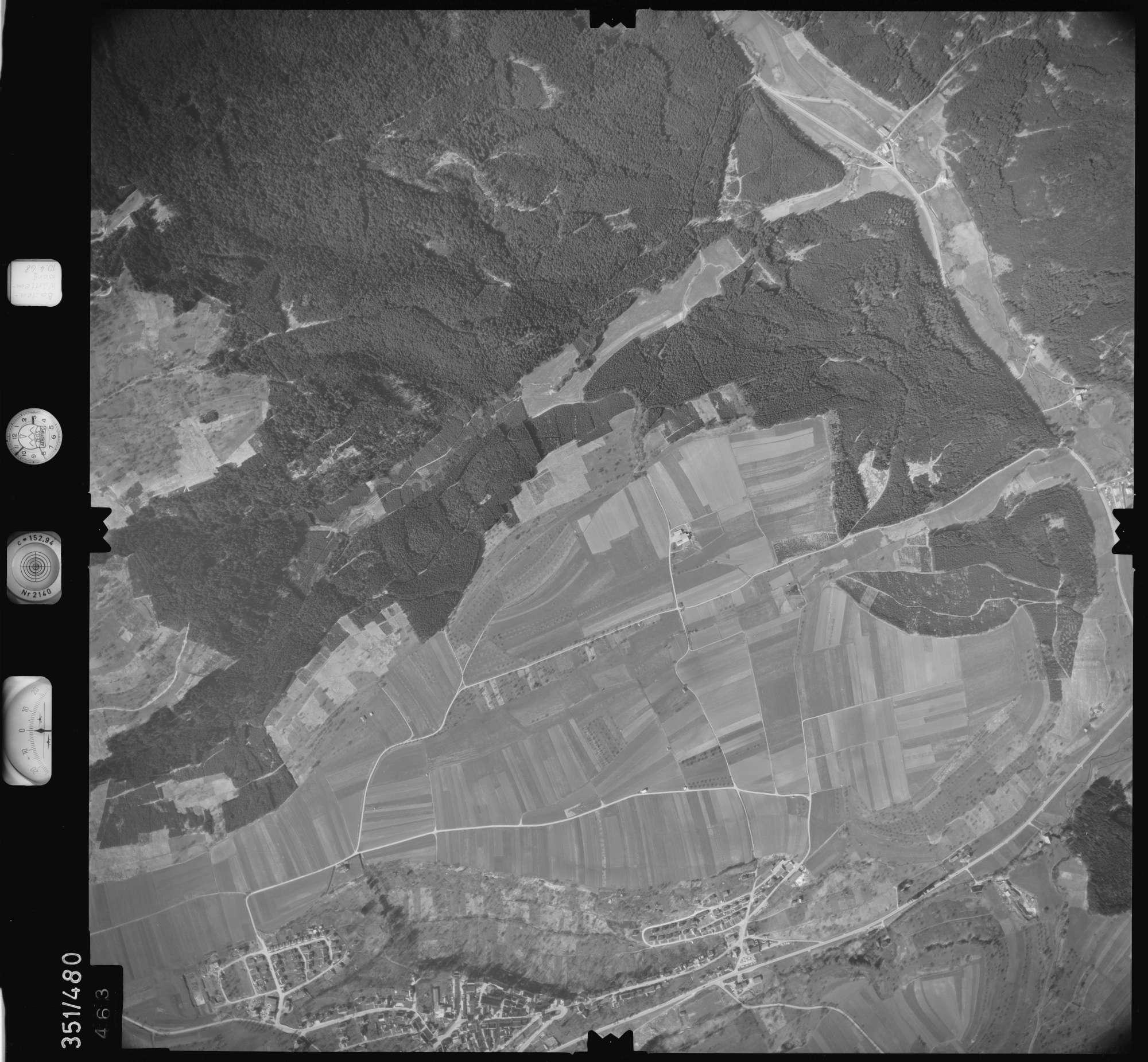 Luftbild: Film 41 Bildnr. 463, Bild 1