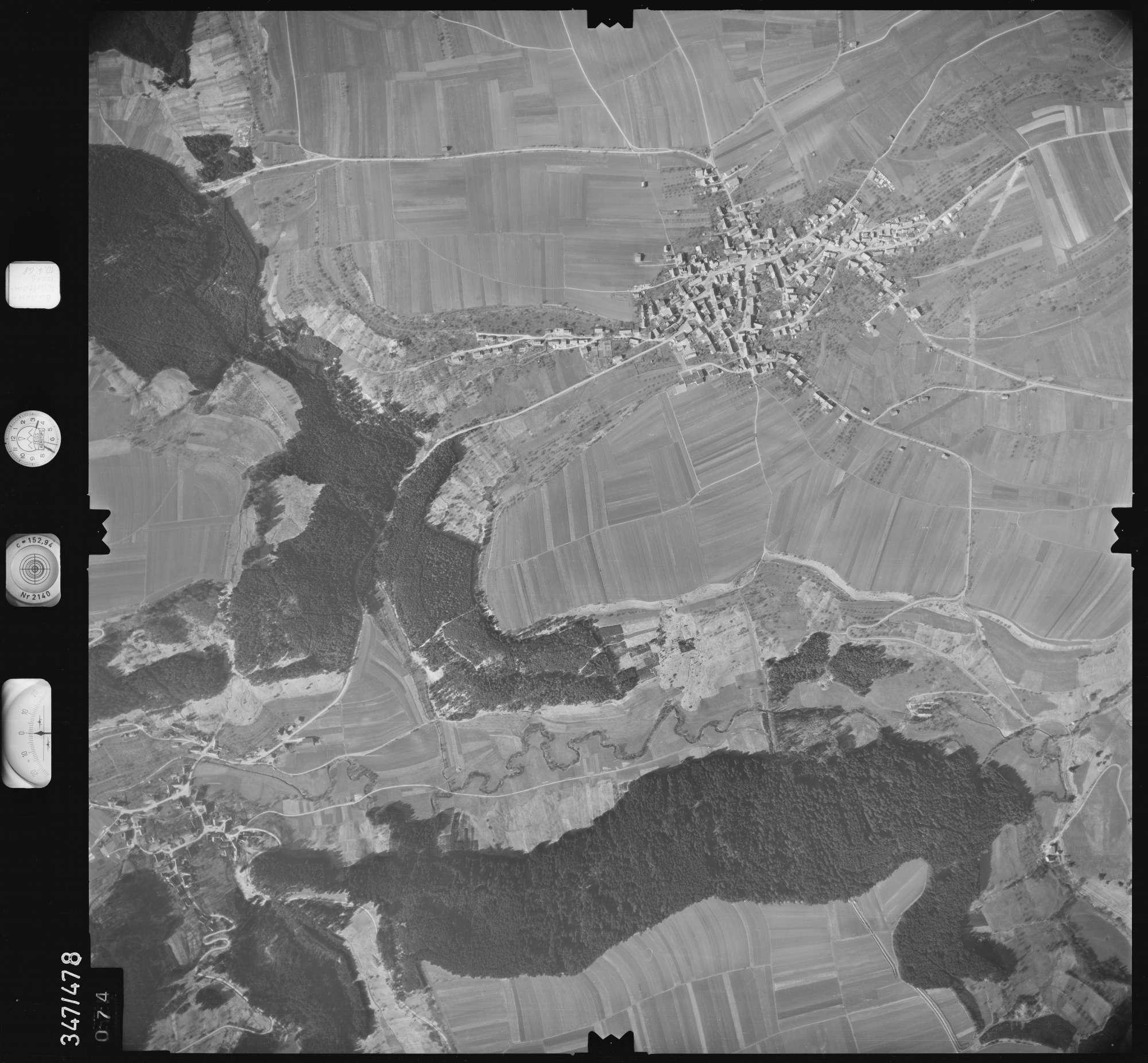 Luftbild: Film 43 Bildnr. 74, Bild 1