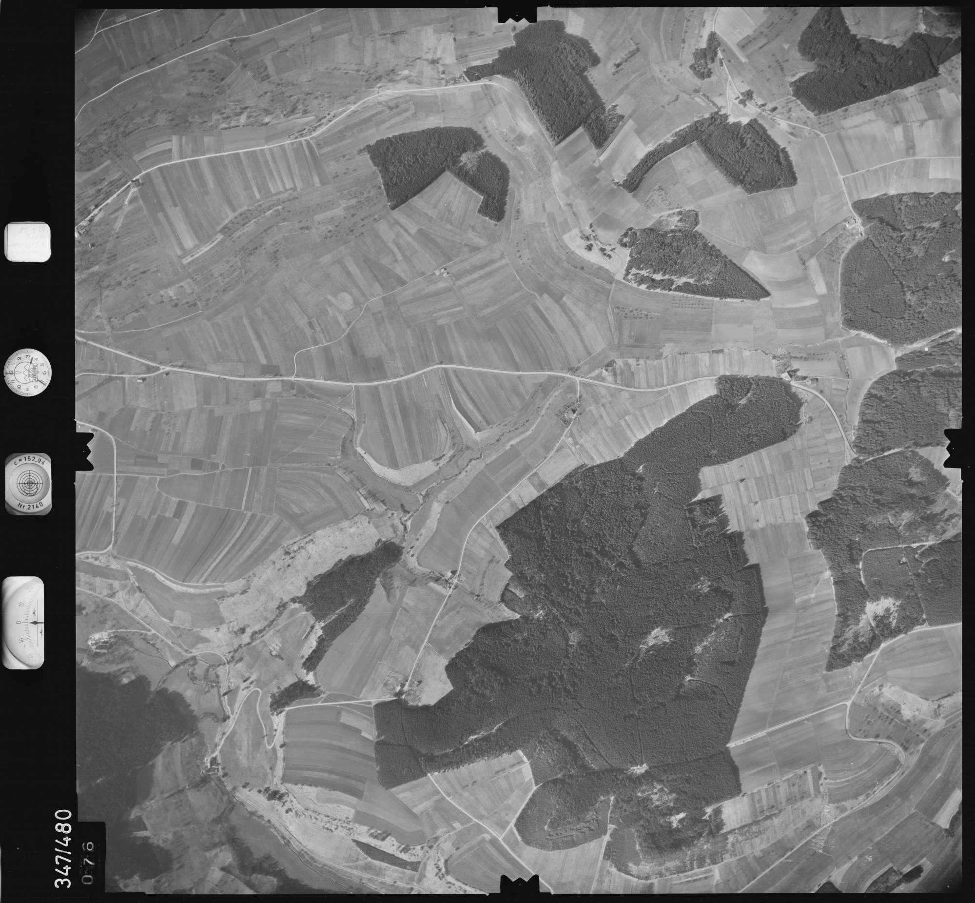 Luftbild: Film 43 Bildnr. 76, Bild 1
