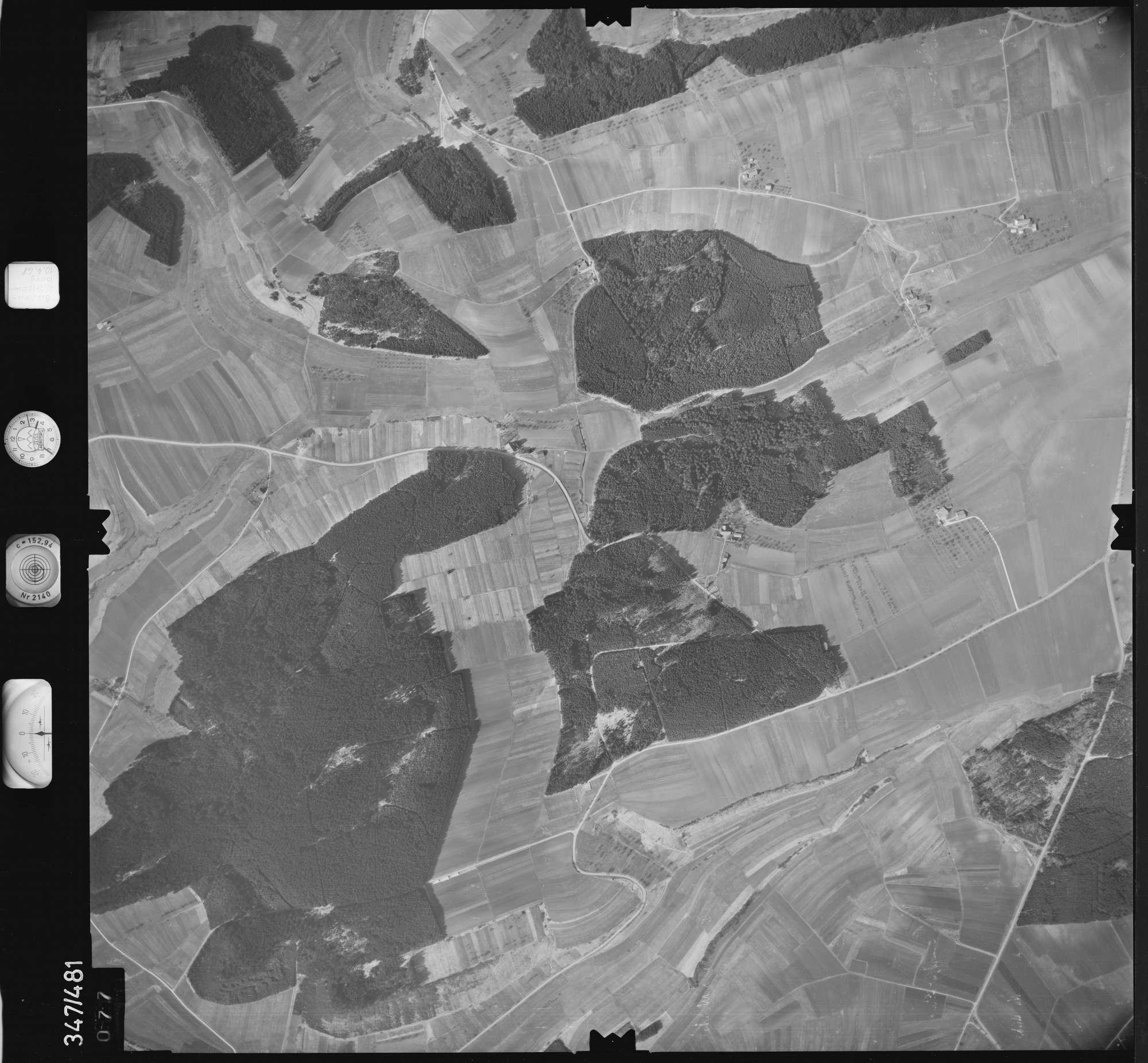 Luftbild: Film 43 Bildnr. 77, Bild 1