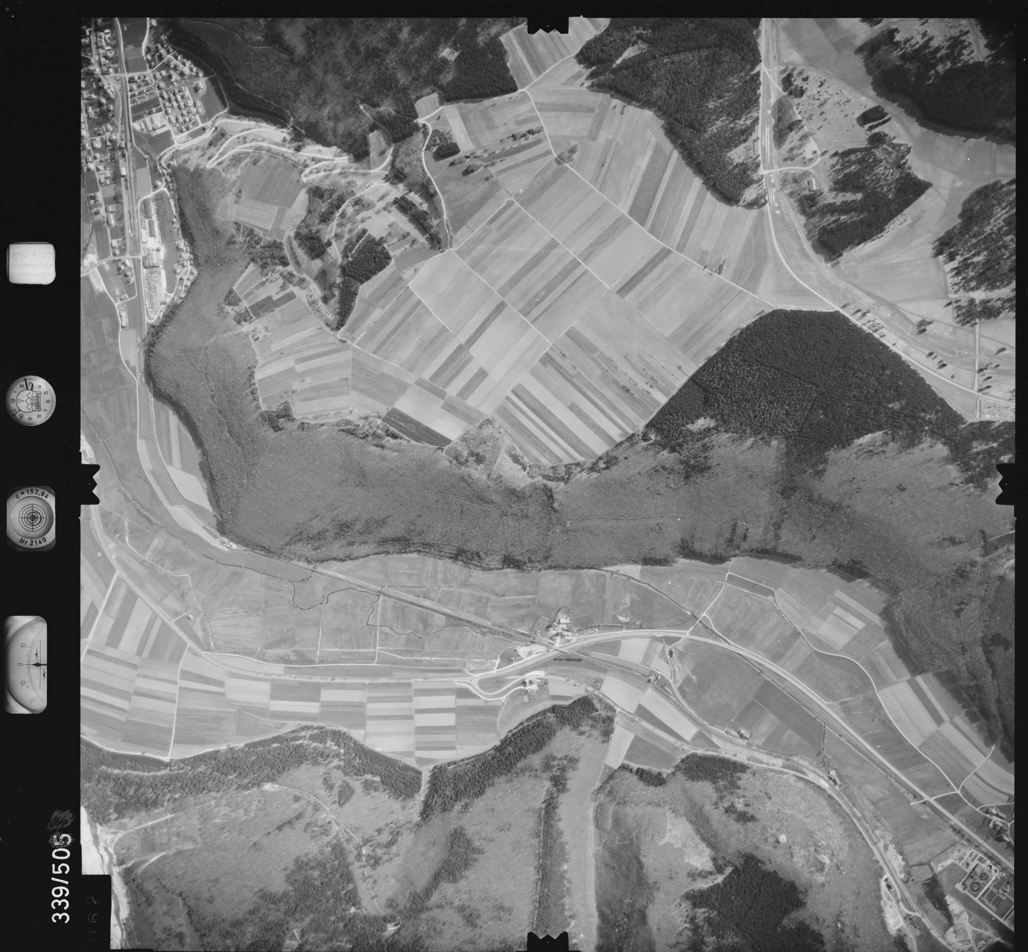Luftbild: Film 18 Bildnr. 62, Bild 1