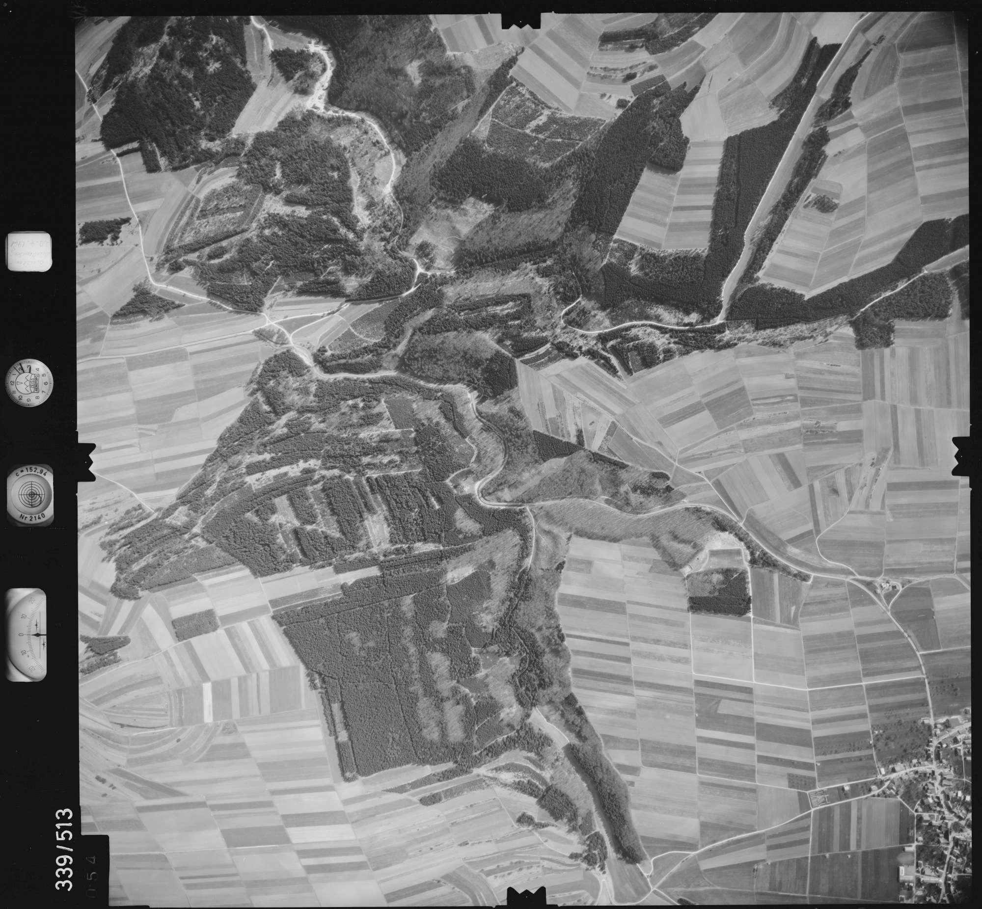 Luftbild: Film 18 Bildnr. 54, Bild 1