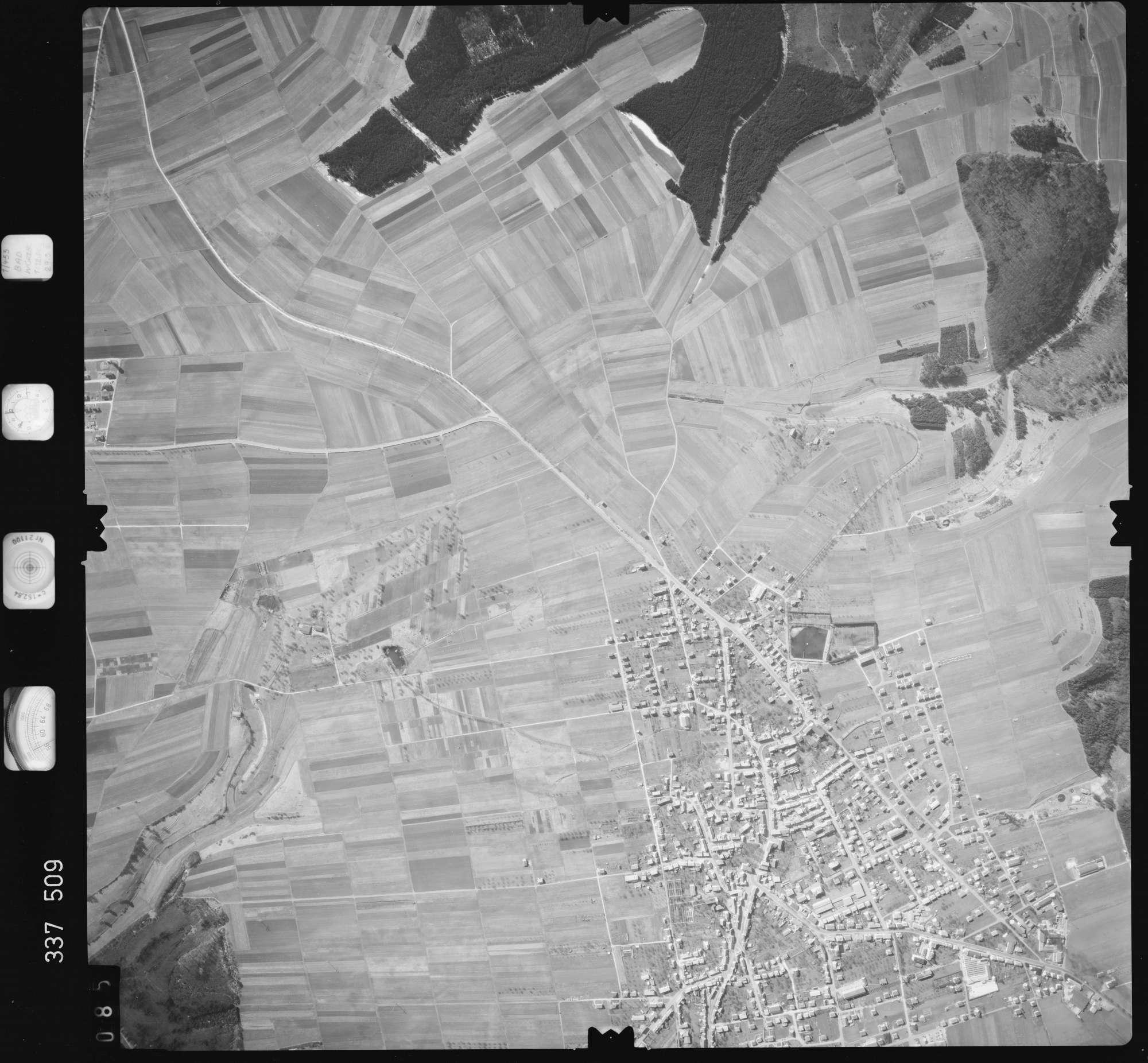 Luftbild: Film 50 Bildnr. 85, Bild 1