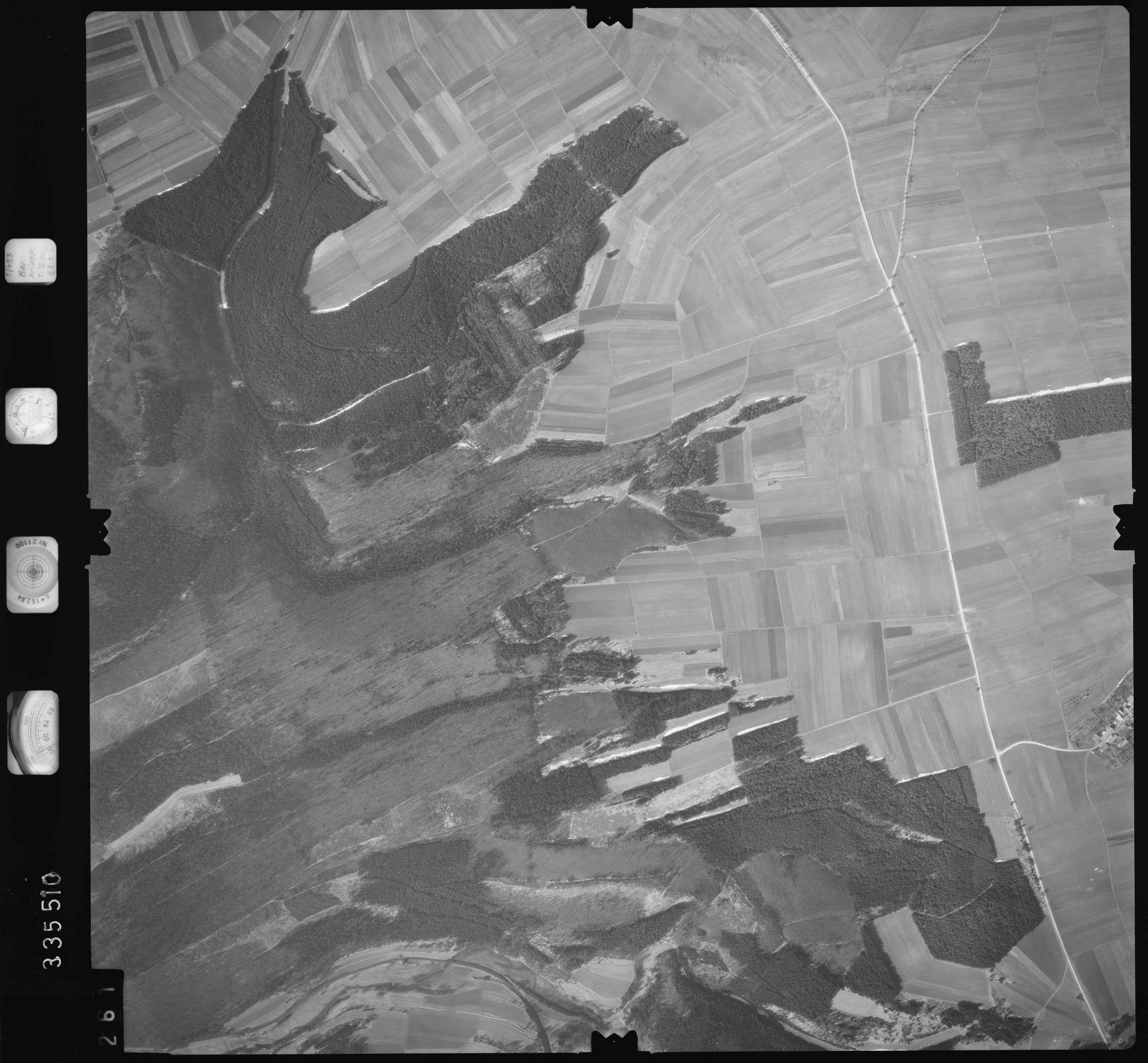 Luftbild: Film 51 Bildnr. 261, Bild 1