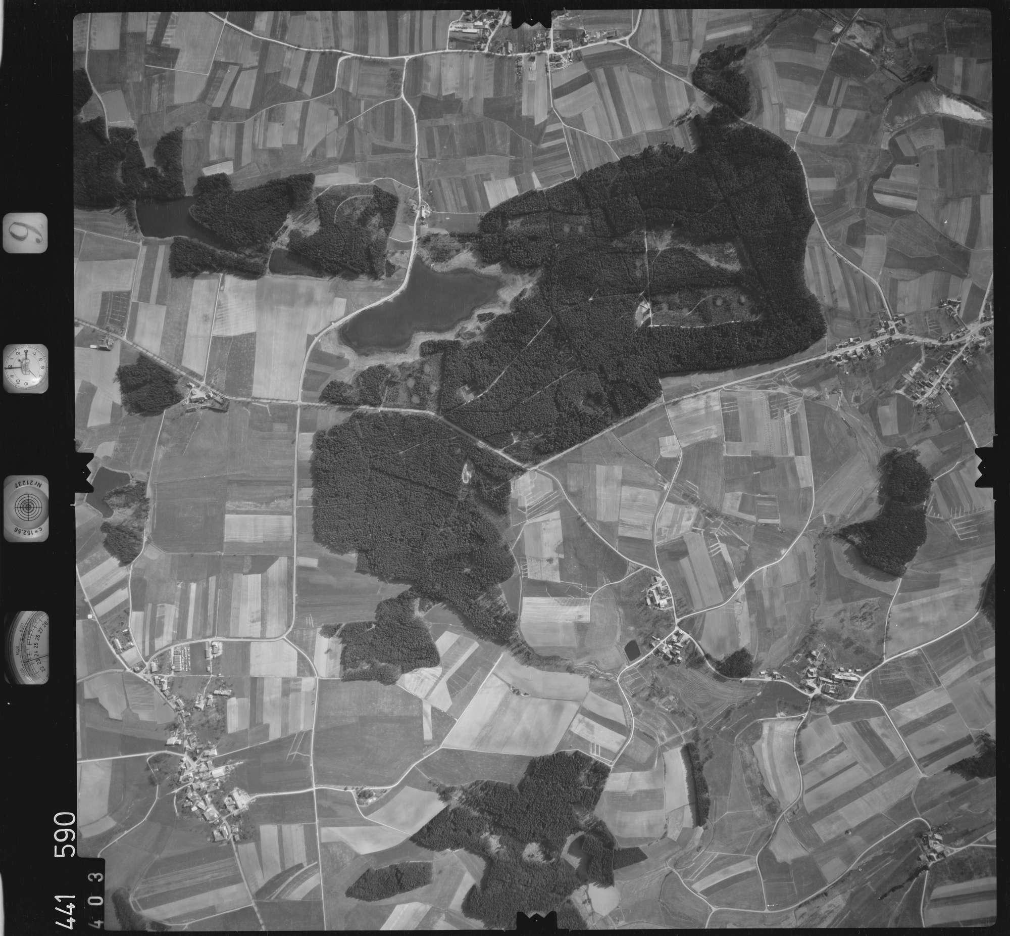 Luftbild: Film 10 Bildnr. 403, Bild 1