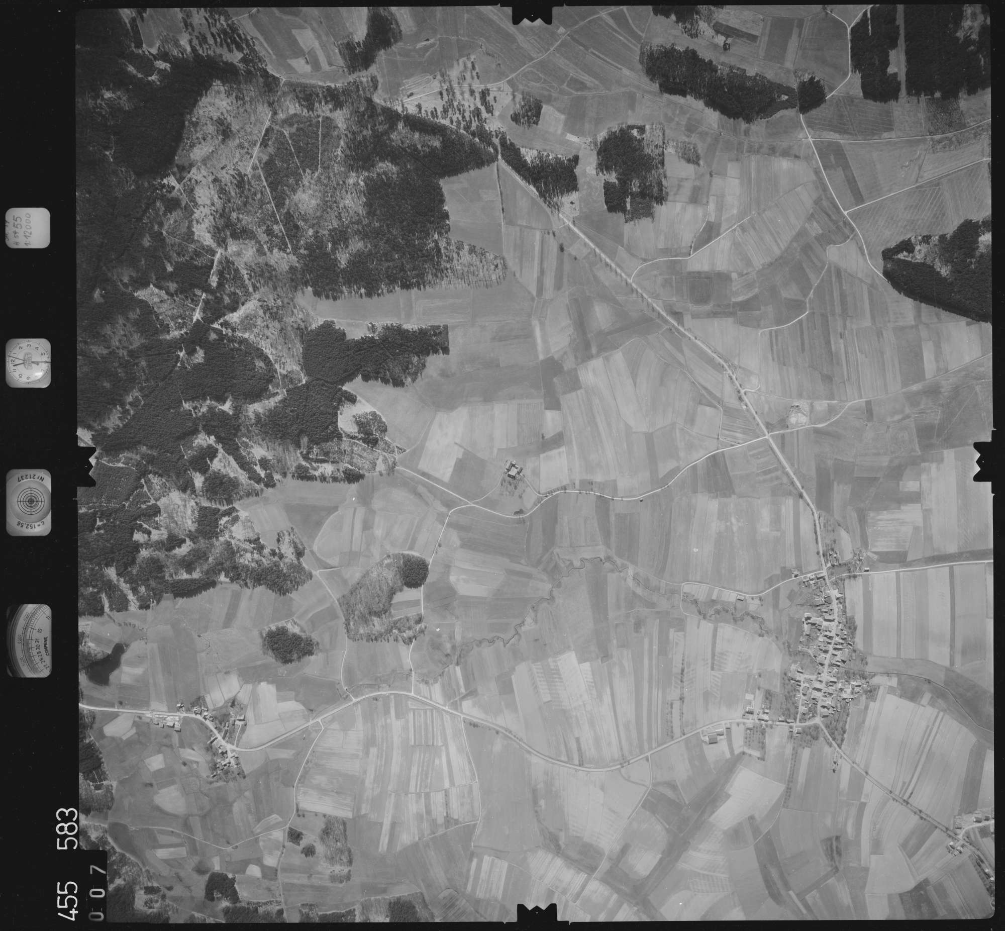 Luftbild: Film 17 Bildnr. 7, Bild 1