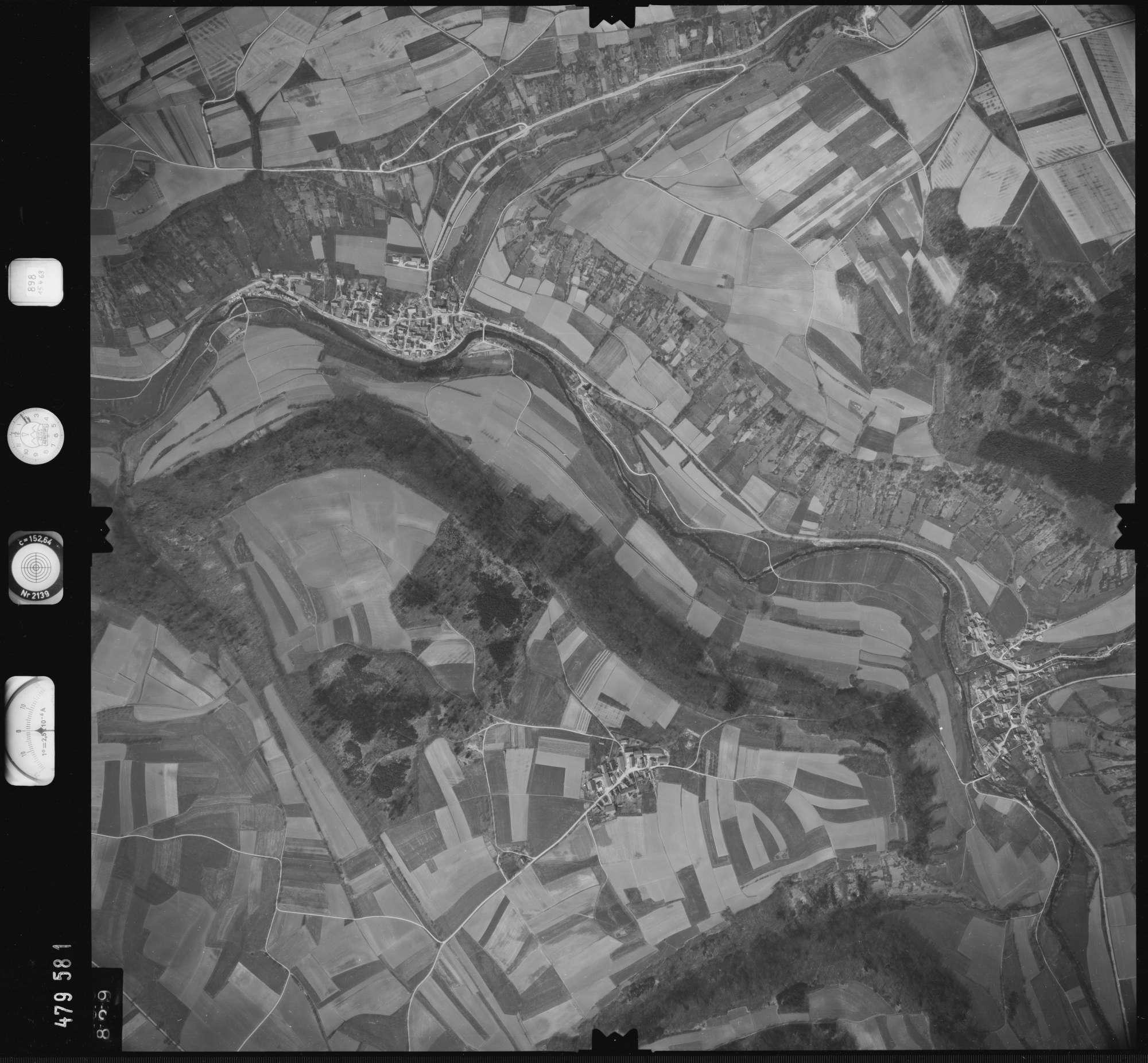 Luftbild: Film 898 Bildnr. 829, Bild 1