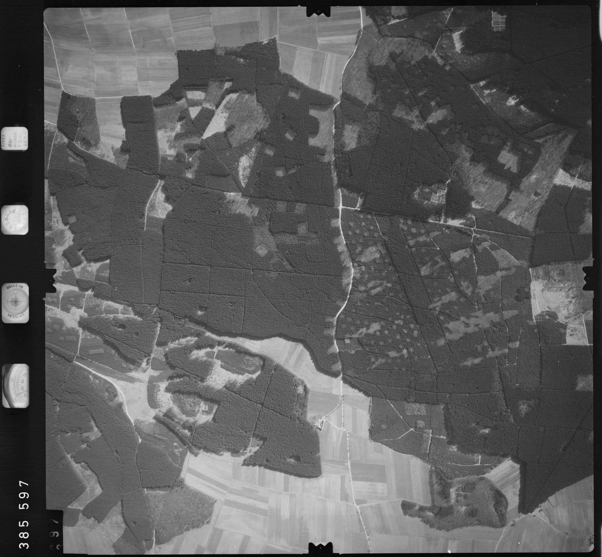 Luftbild: Film 23 Bildnr. 396, Bild 1