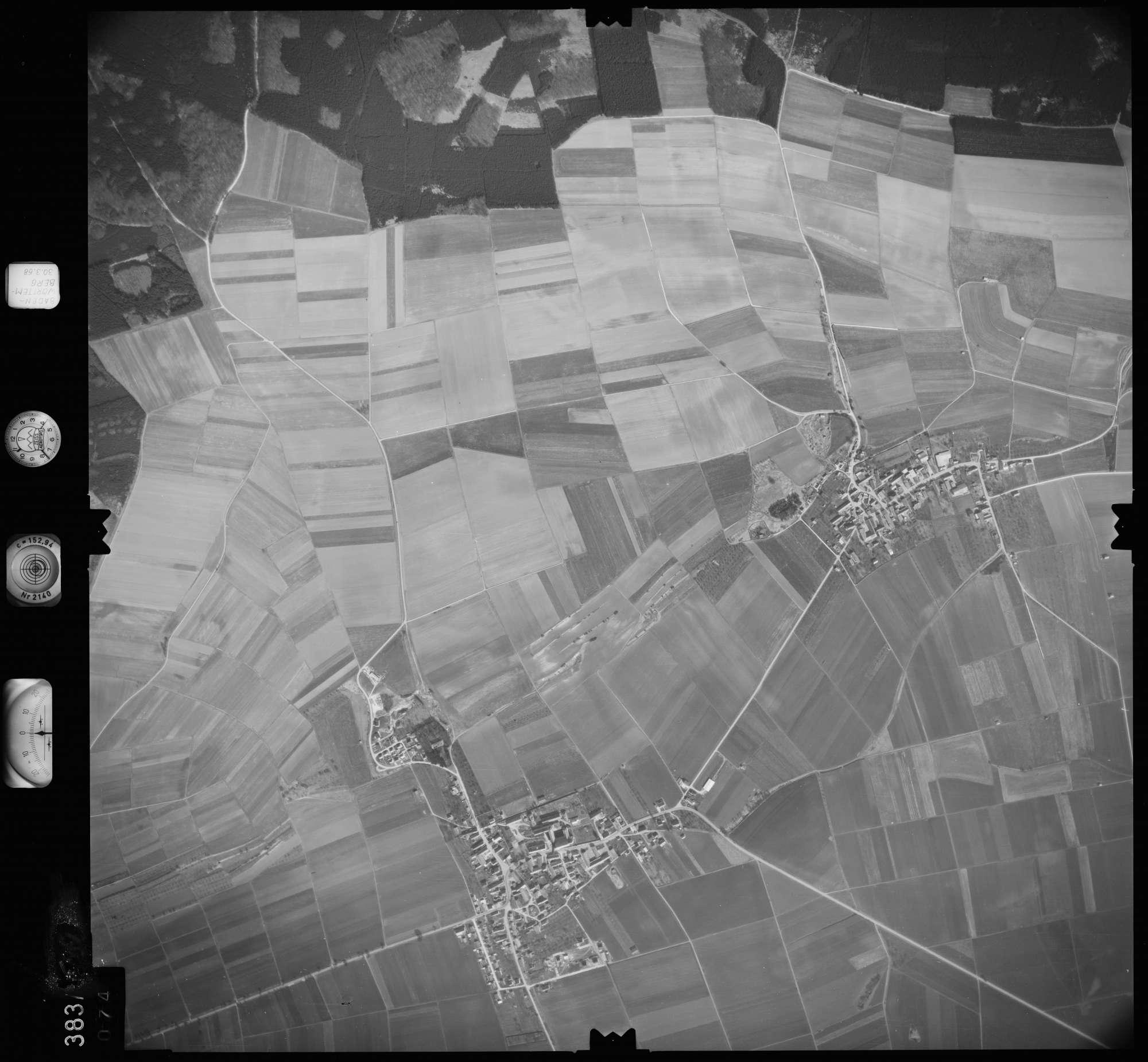 Luftbild: Film 27 Bildnr. 74, Bild 1