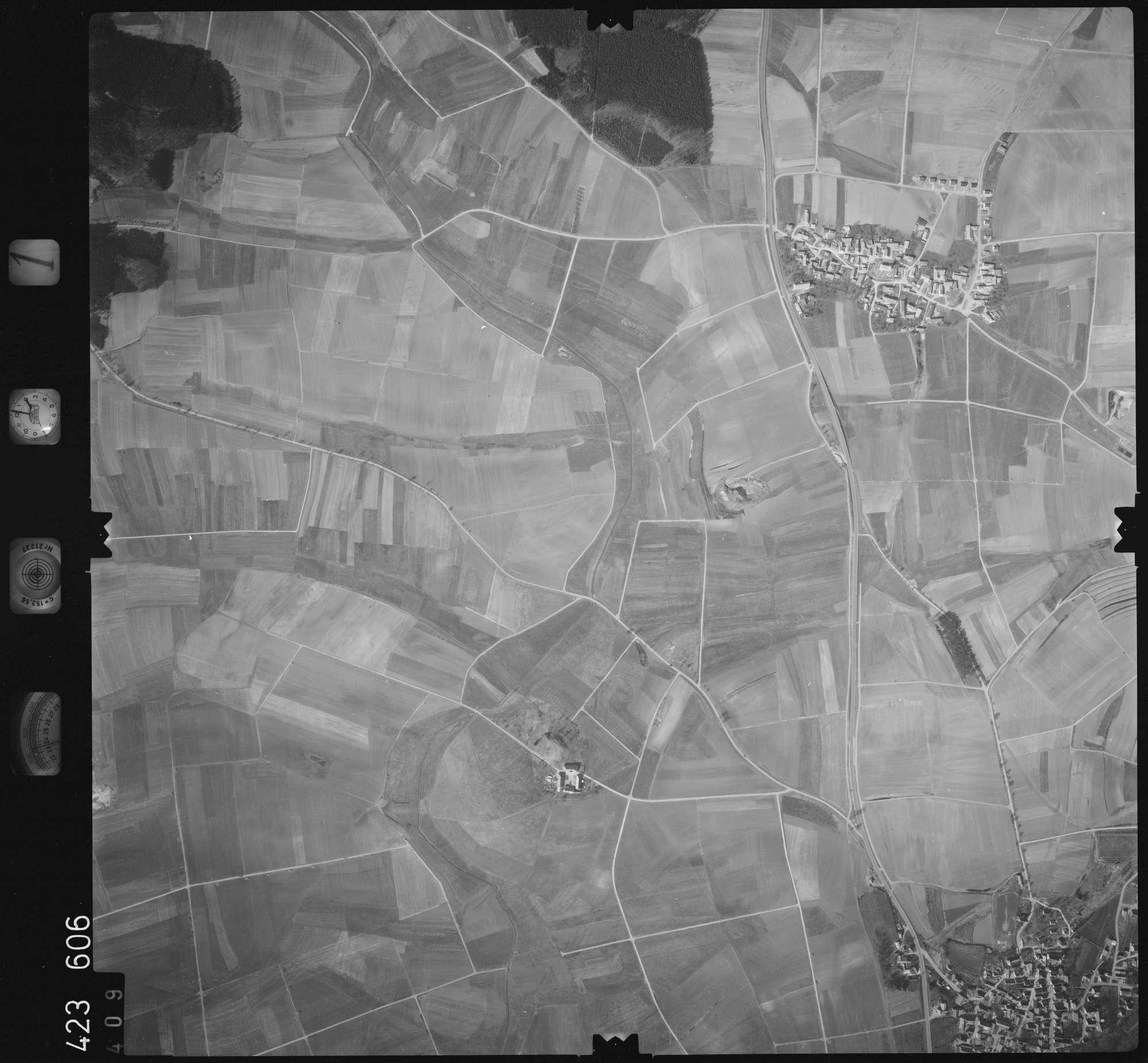 Luftbild: Film 1 Bildnr. 409, Bild 1