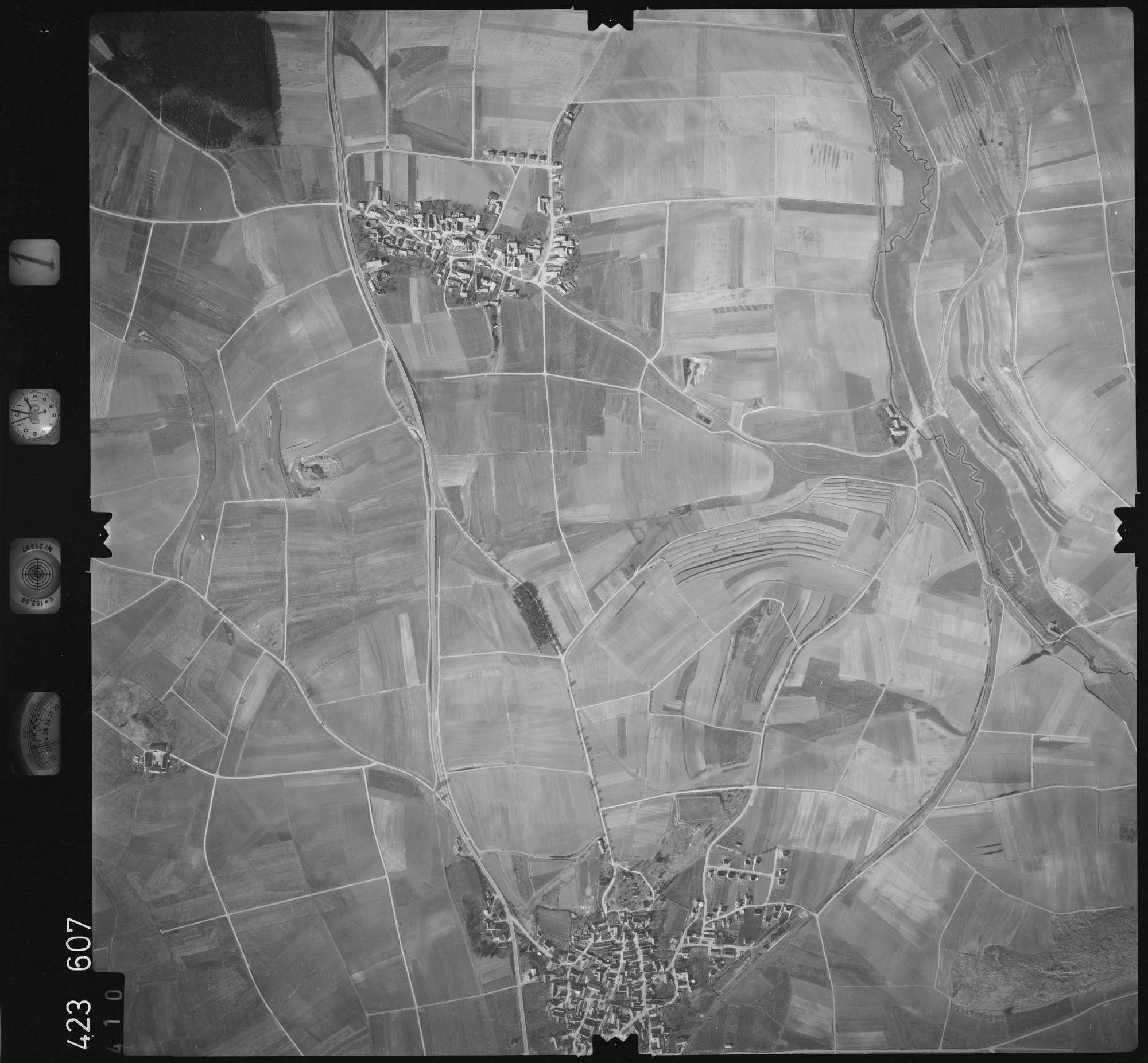 Luftbild: Film 1 Bildnr. 410, Bild 1