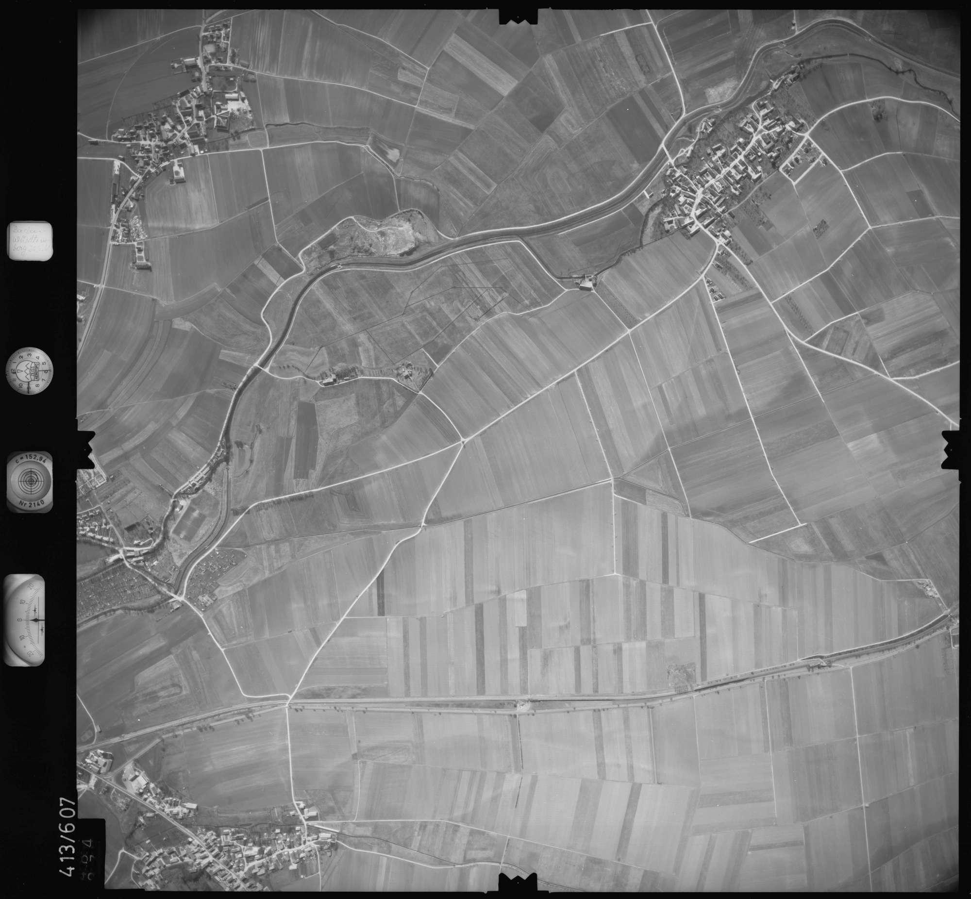 Luftbild: Film 6 Bildnr. 484, Bild 1
