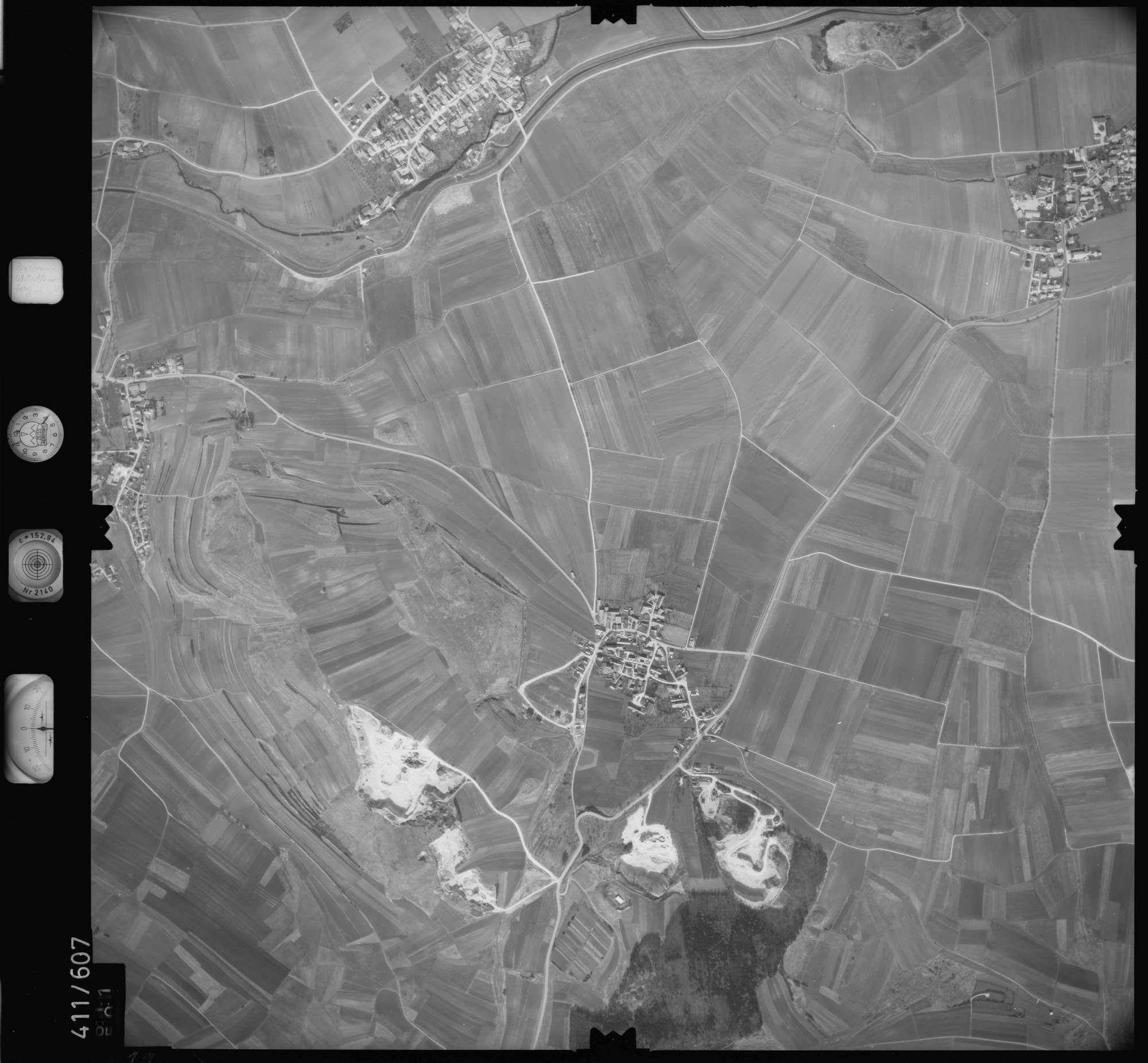 Luftbild: Film 7 Bildnr. 611, Bild 1