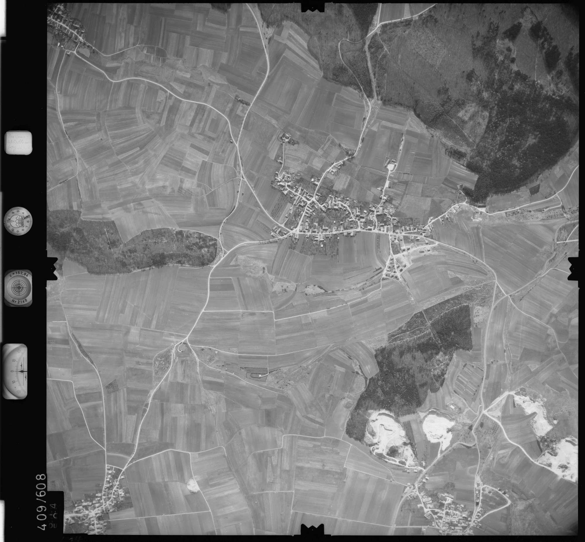 Luftbild: Film 7 Bildnr. 614, Bild 1