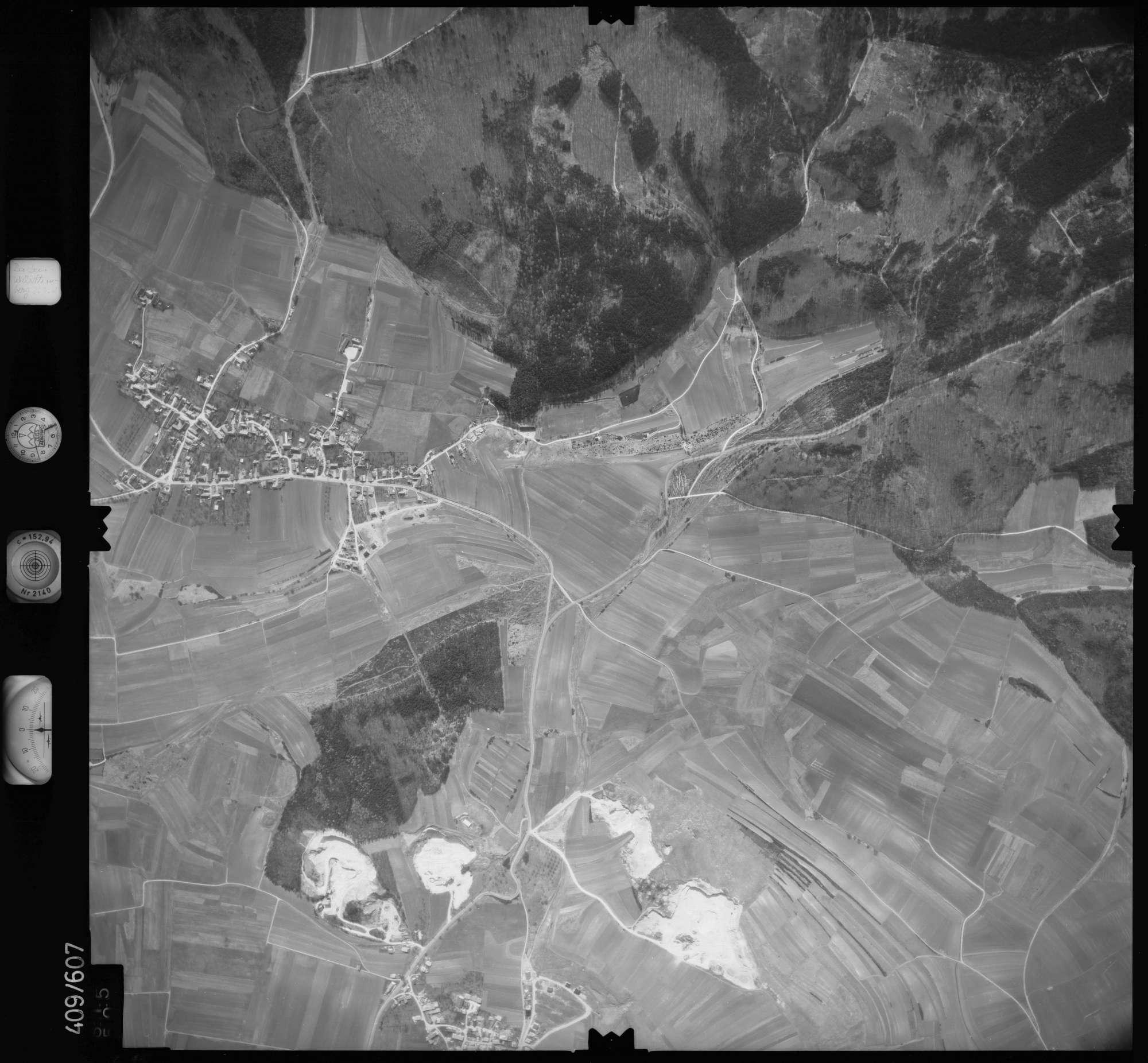 Luftbild: Film 7 Bildnr. 615, Bild 1