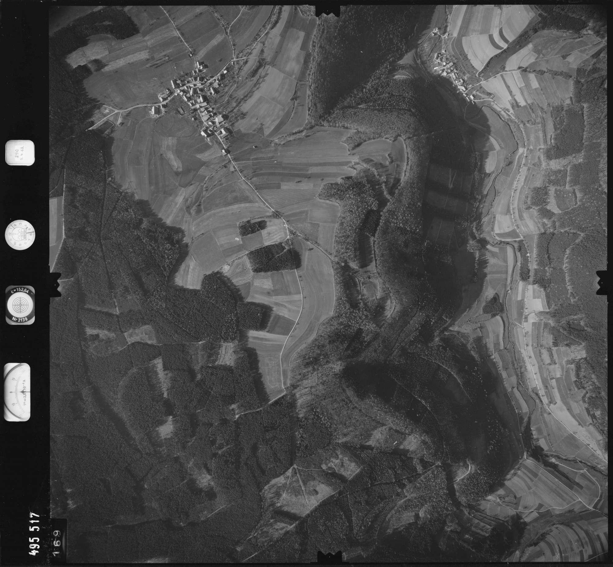 Luftbild: Film 889 Bildnr. 169, Bild 1