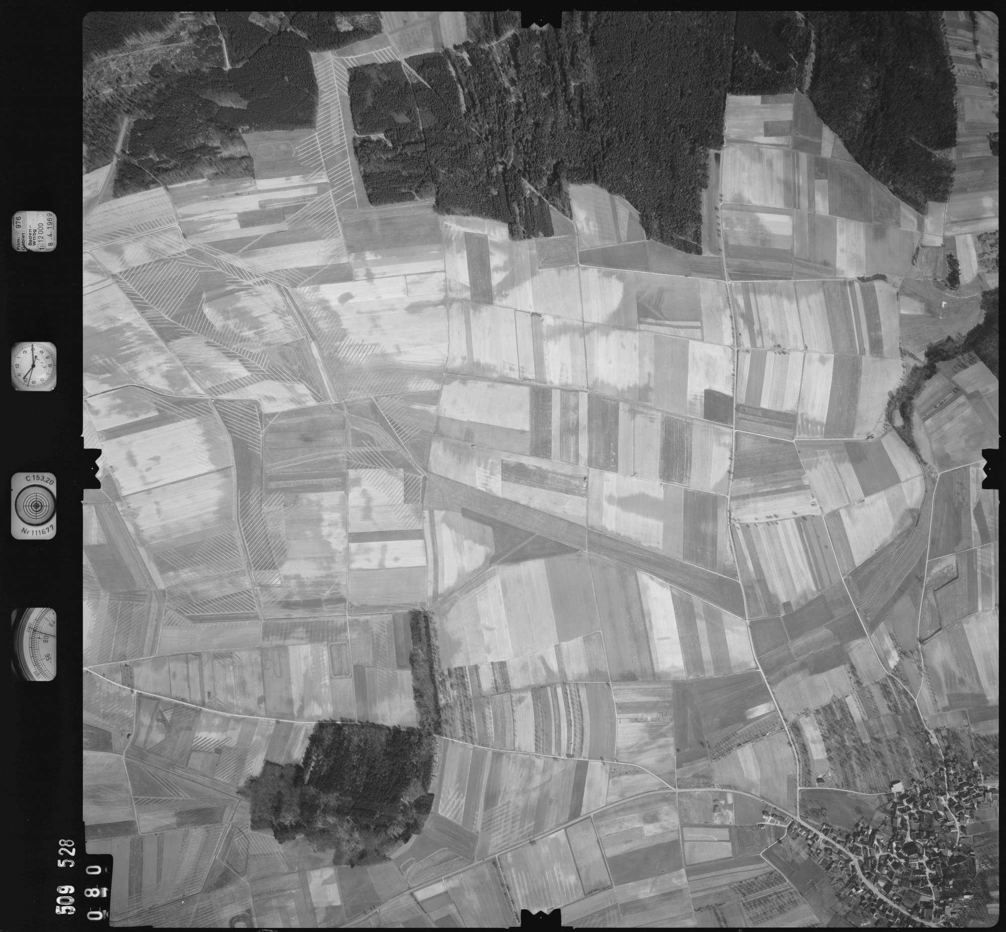 Luftbild: Film 976 Bildnr. 80, Bild 1