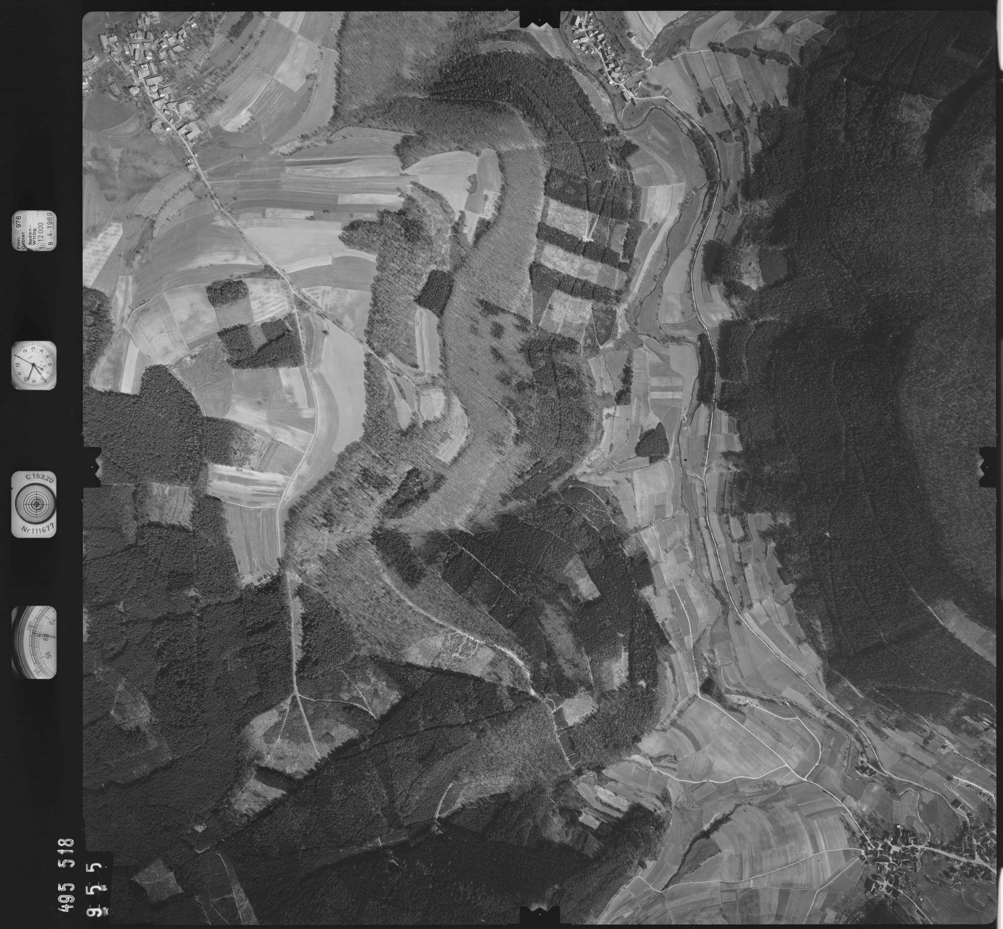 Luftbild: Film 976 Bildnr. 955, Bild 1