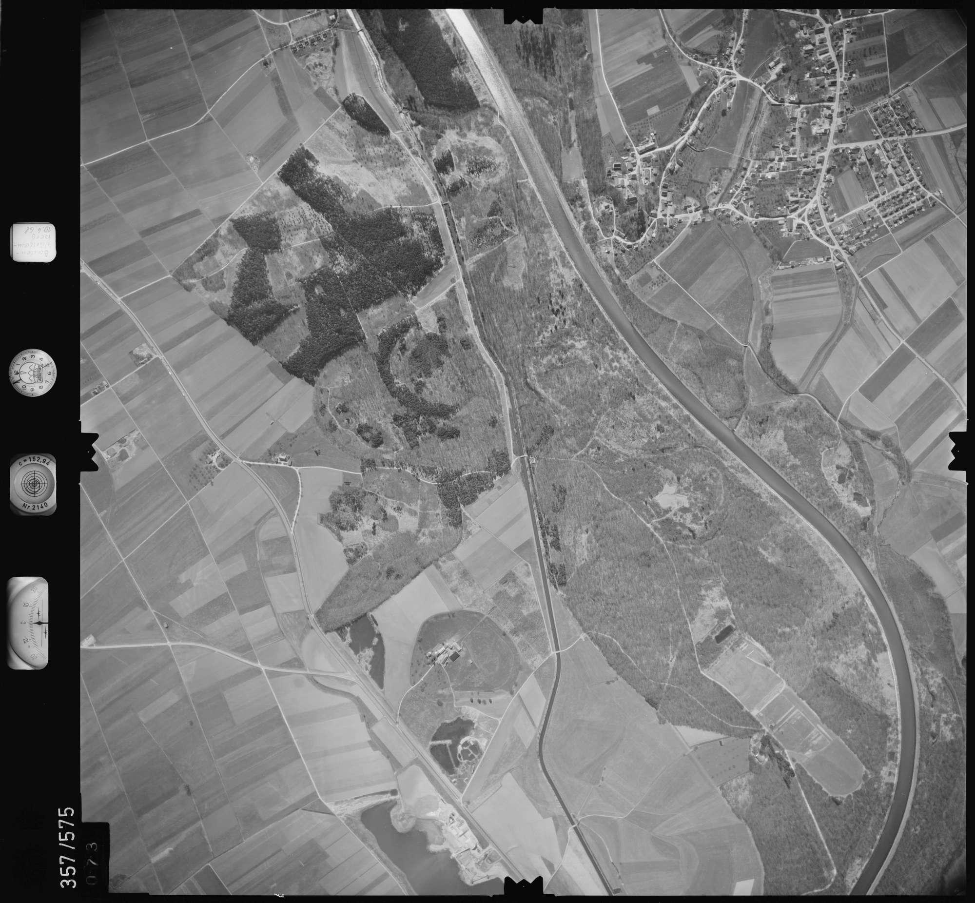 Luftbild: Film 38 Bildnr. 73, Bild 1