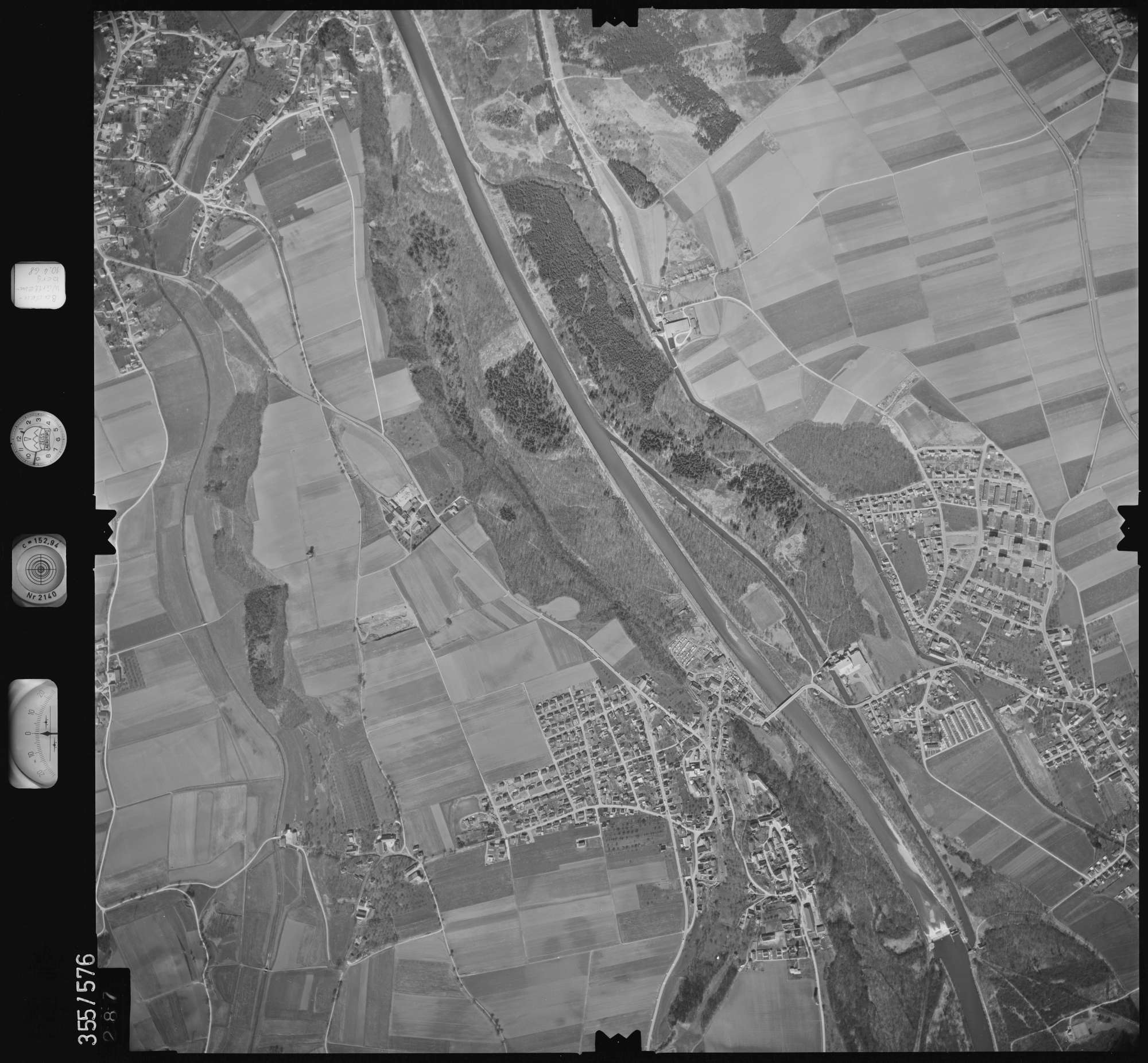 Luftbild: Film 38 Bildnr. 287, Bild 1