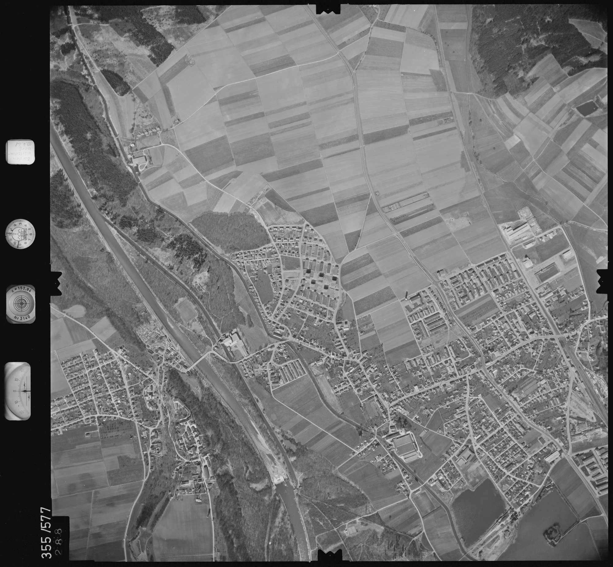 Luftbild: Film 38 Bildnr. 288, Bild 1