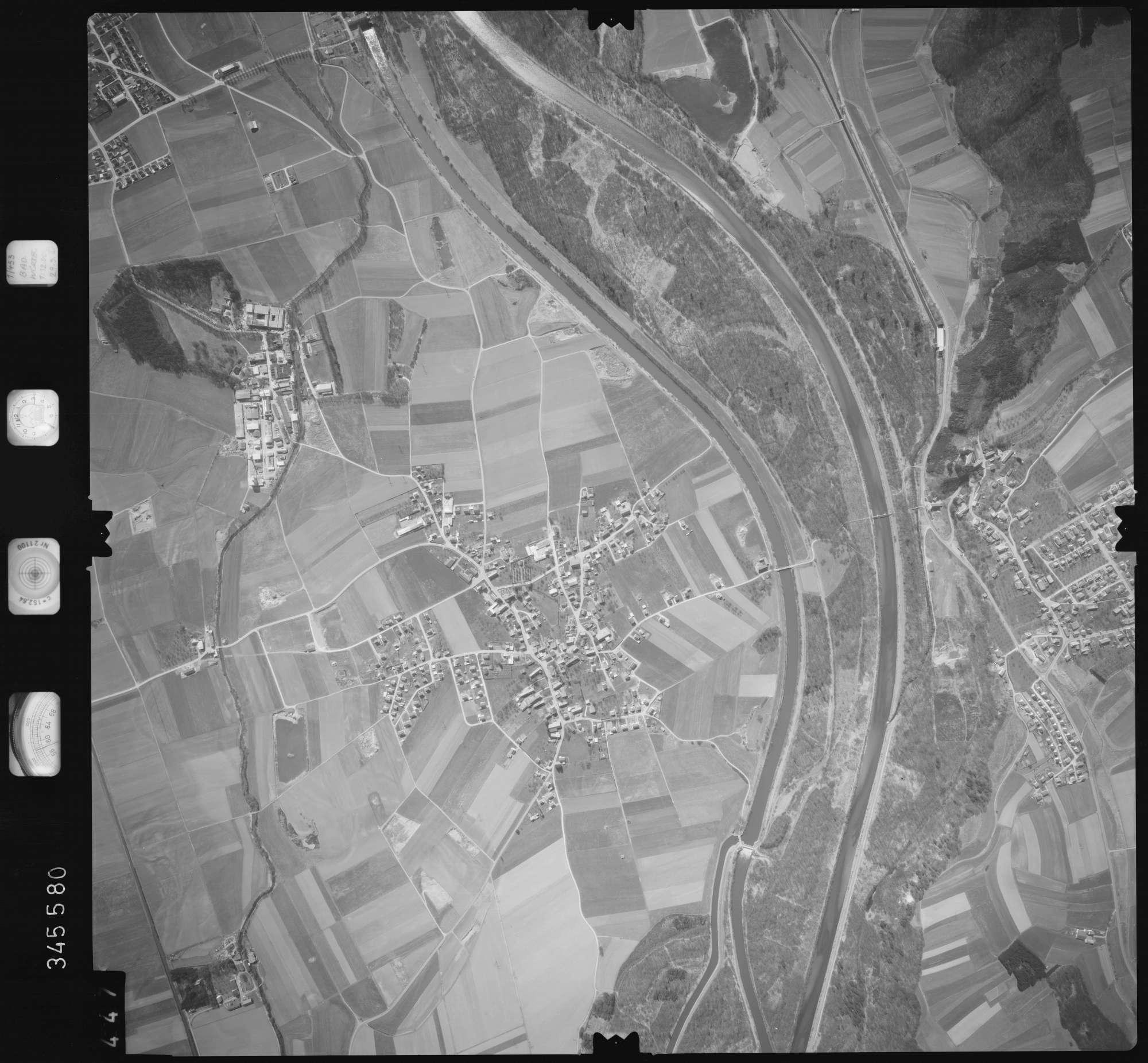 Luftbild: Film 46 Bildnr. 447, Bild 1