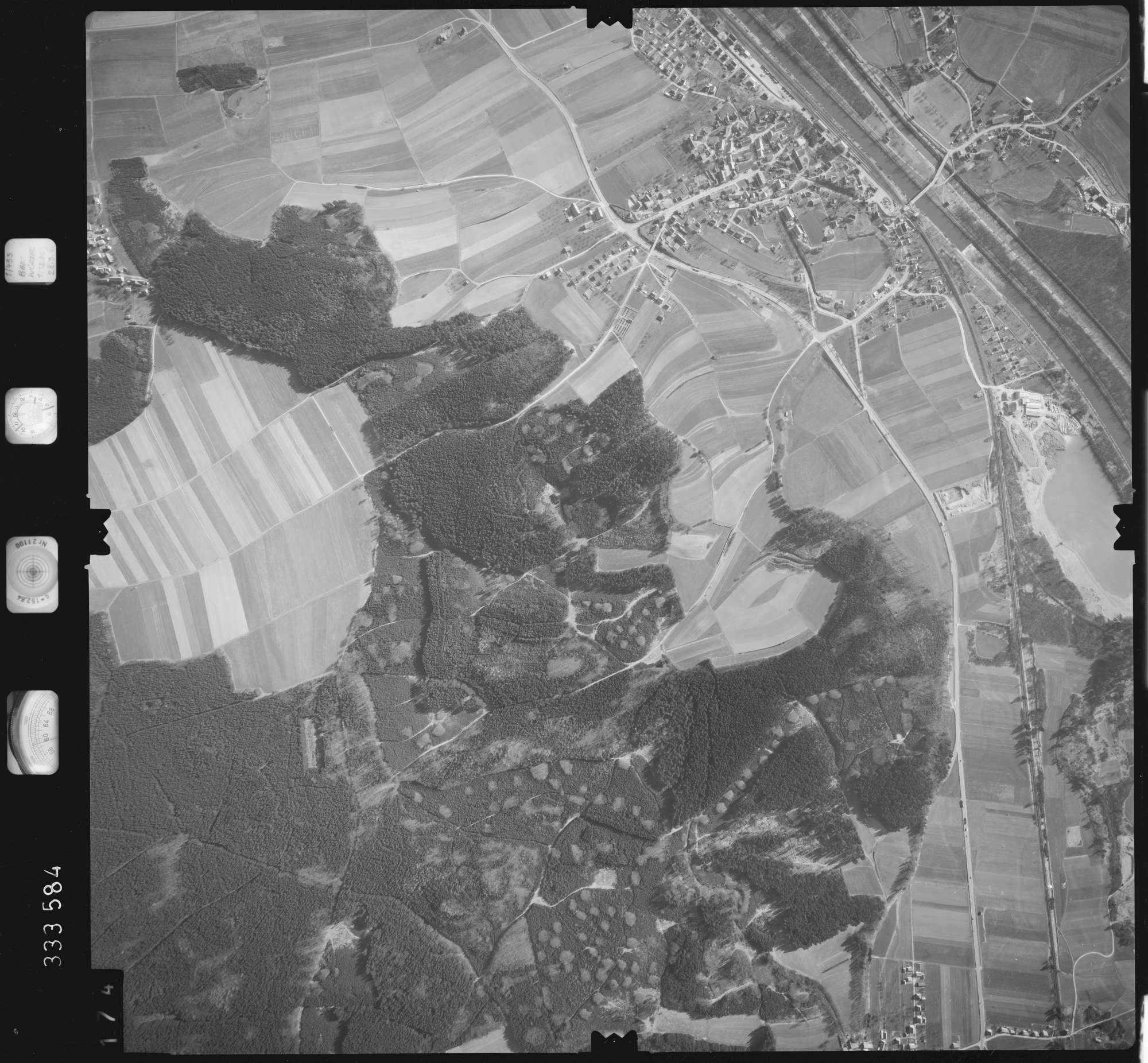 Luftbild: Film 51 Bildnr. 174, Bild 1