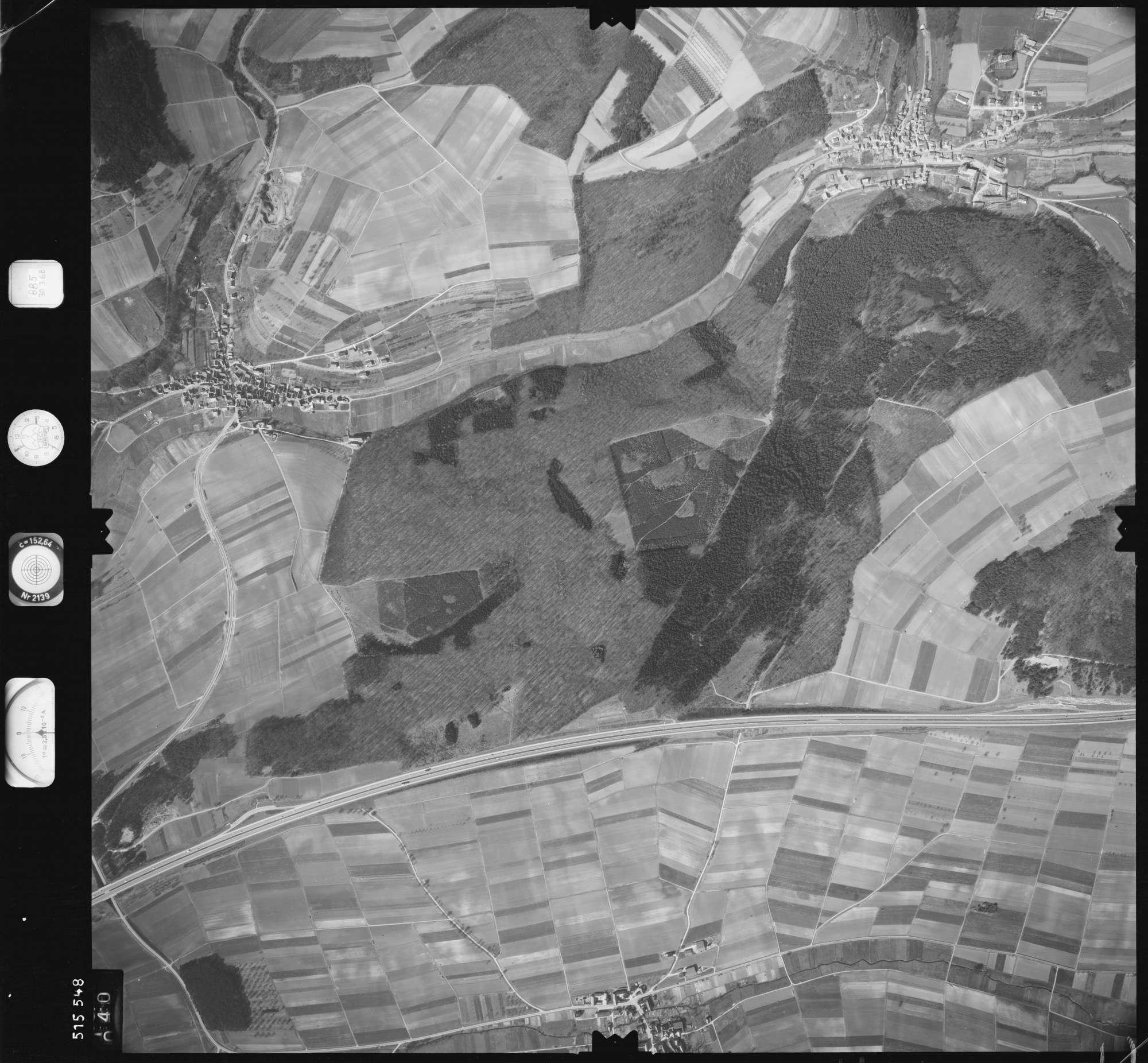 Luftbild: Film 885 Bildnr. 40, Bild 1