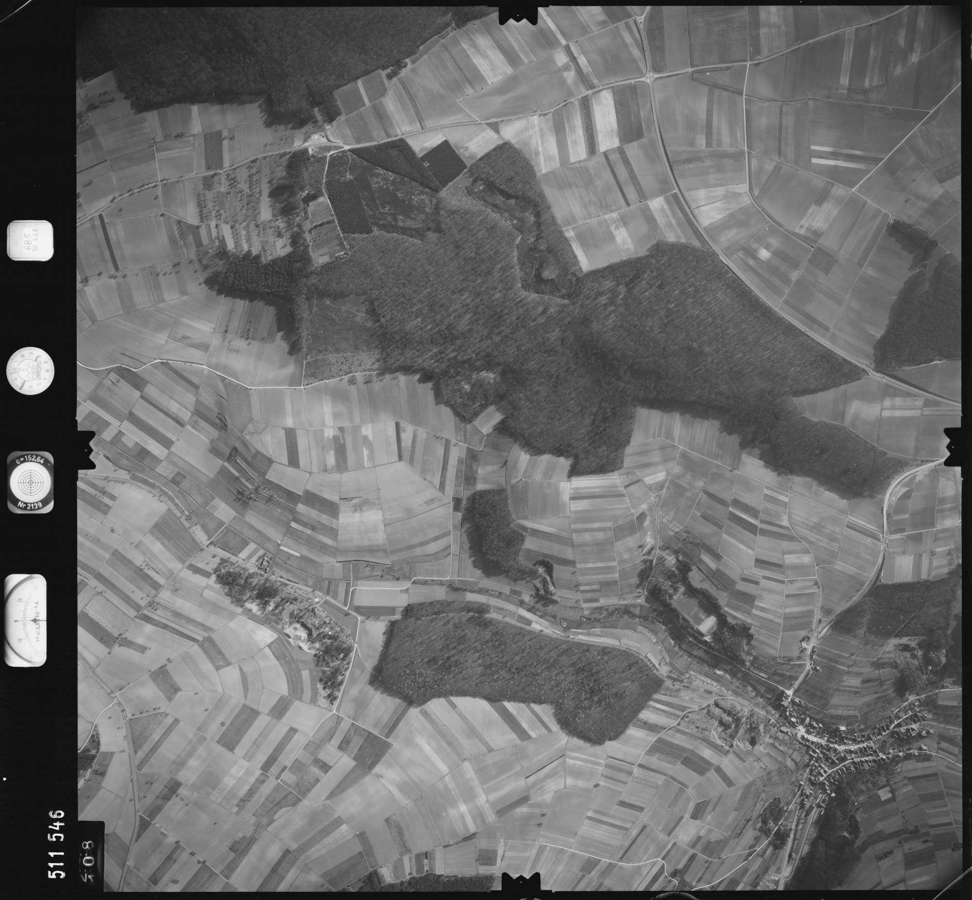 Luftbild: Film 885 Bildnr. 108, Bild 1