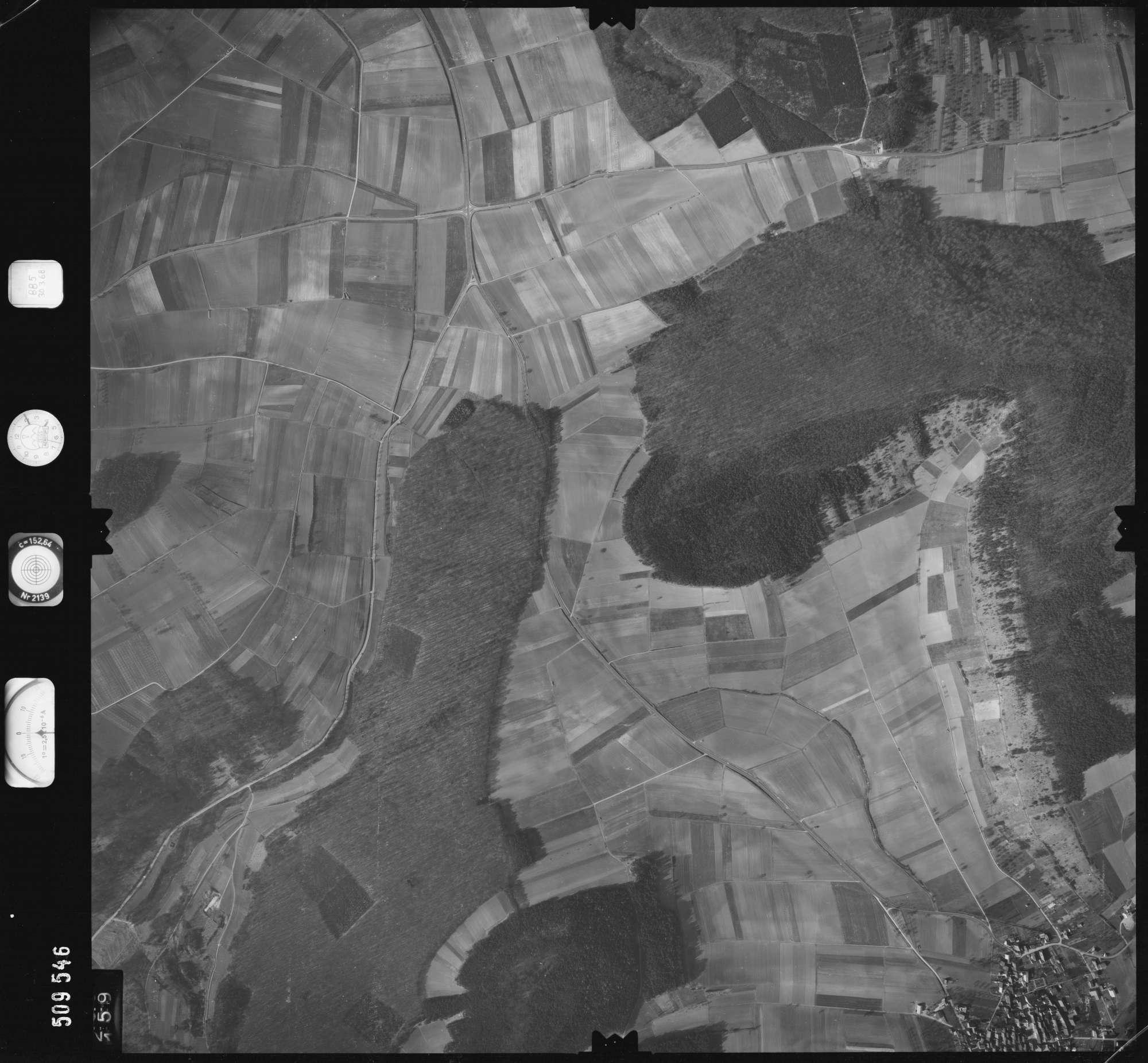 Luftbild: Film 885 Bildnr. 159, Bild 1
