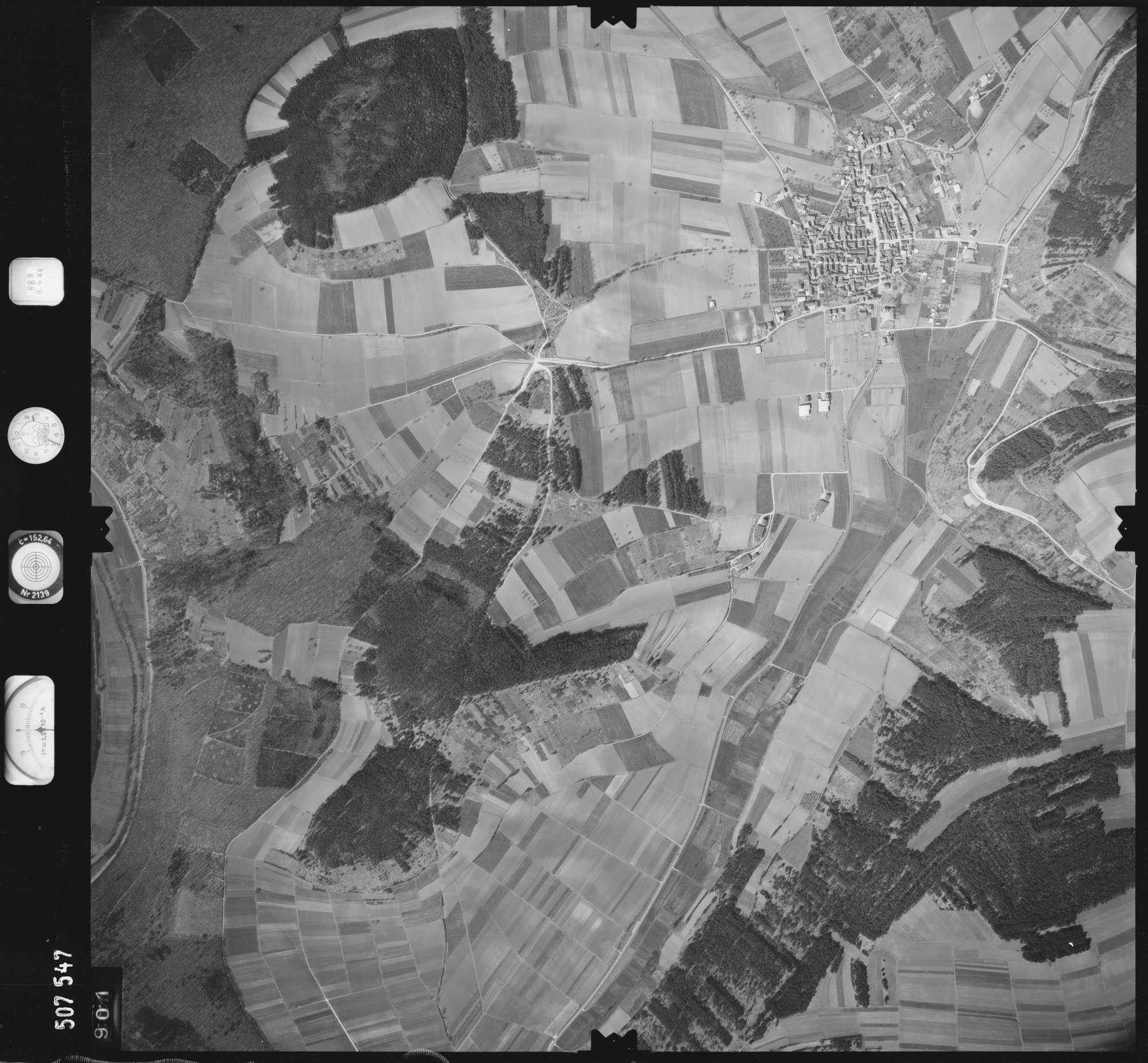 Luftbild: Film 890 Bildnr. 901, Bild 1