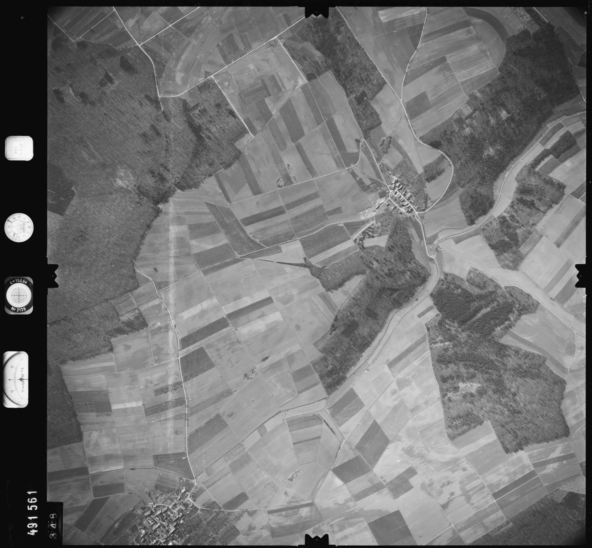 Luftbild: Film 891 Bildnr. 348, Bild 1