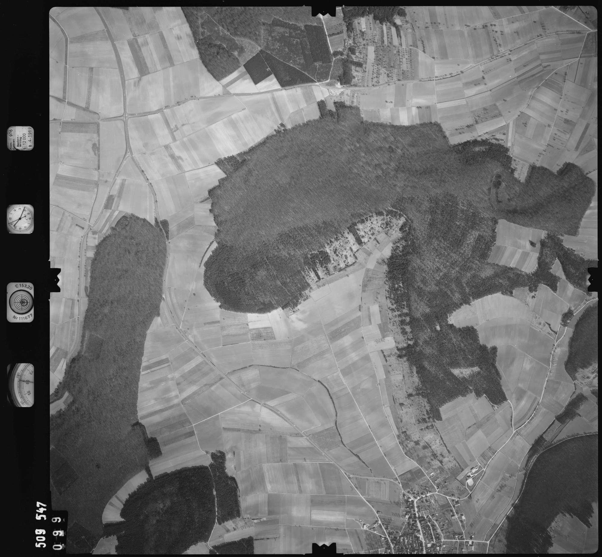Luftbild: Film 976 Bildnr. 99, Bild 1