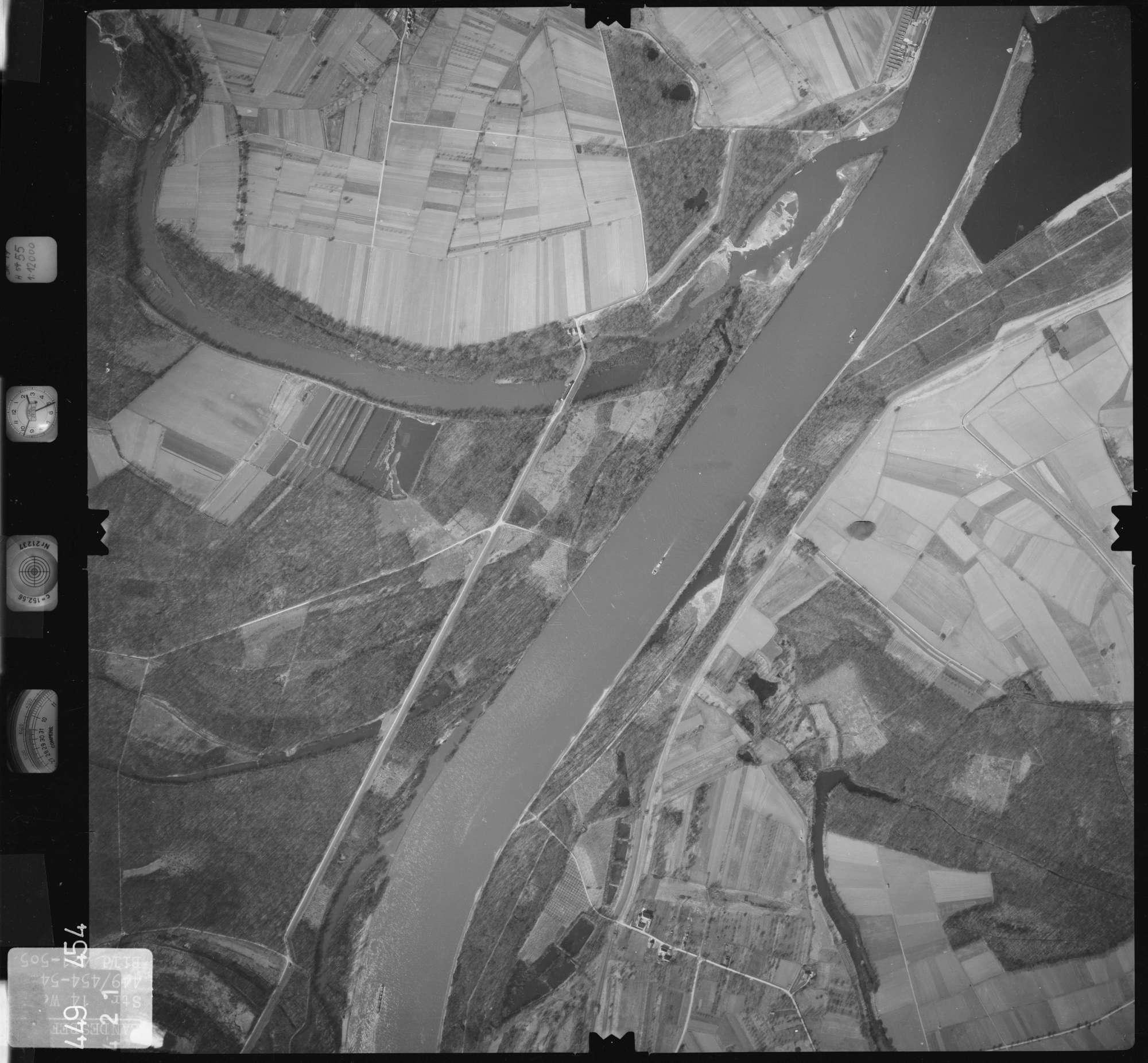 Luftbild: Film 14 Bildnr. 421, Bild 1