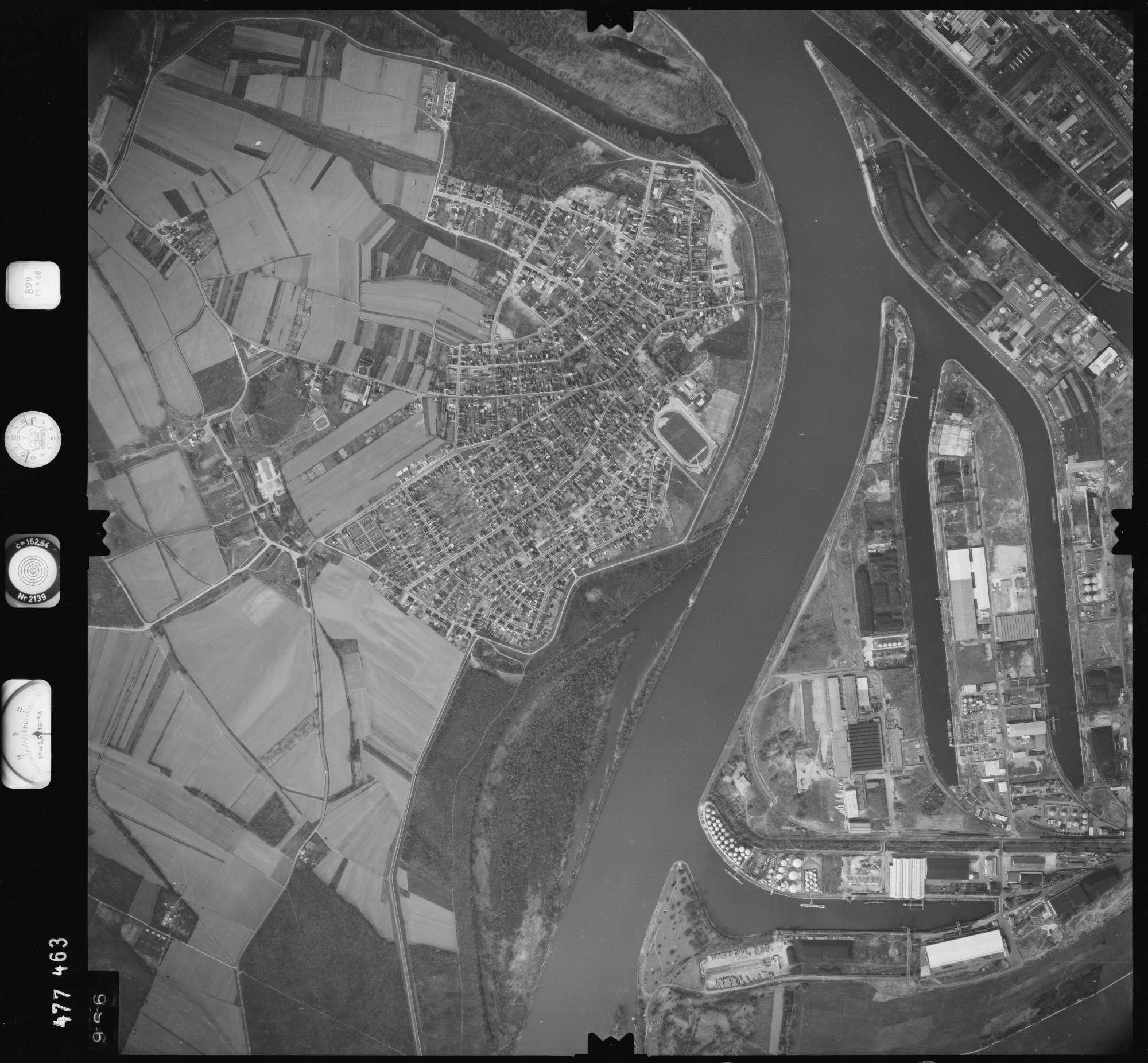 Luftbild: Film 899 Bildnr. 966, Bild 1