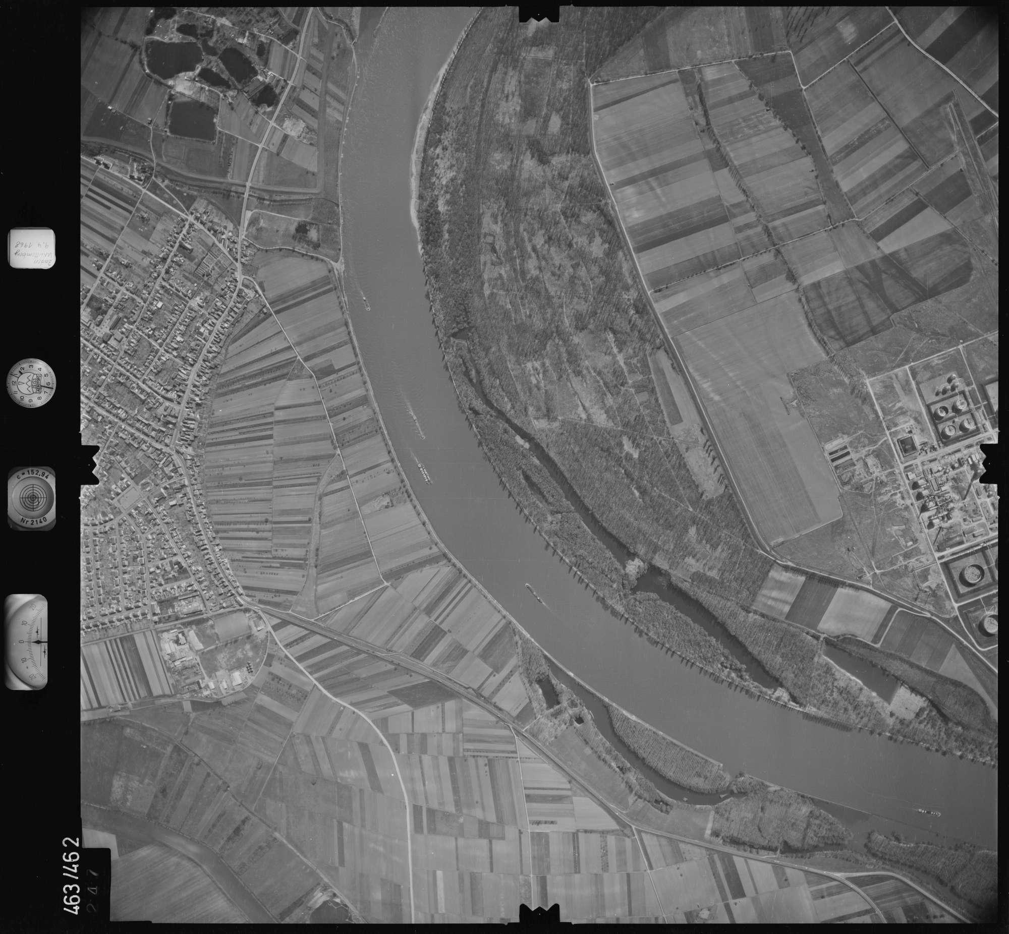 Luftbild: Film 102 Bildnr. 247, Bild 1