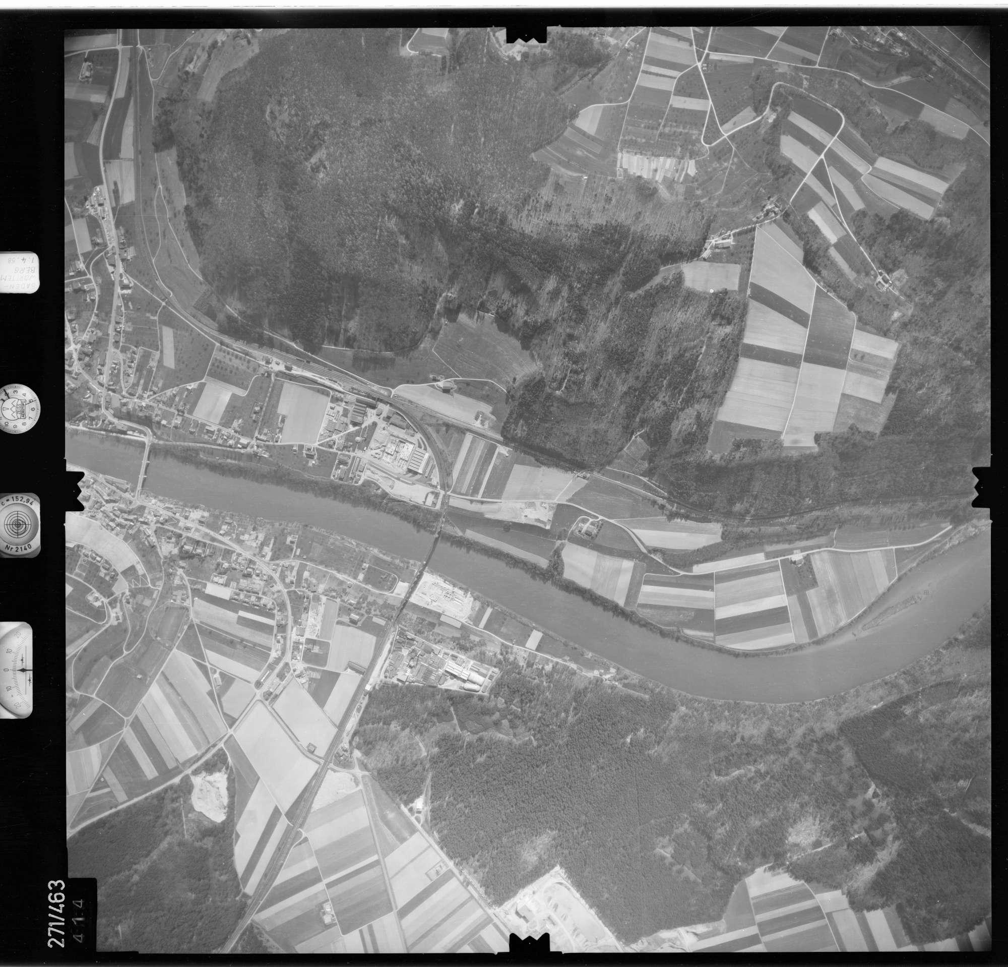 Luftbild: Film 81 Bildnr. 414, Bild 1
