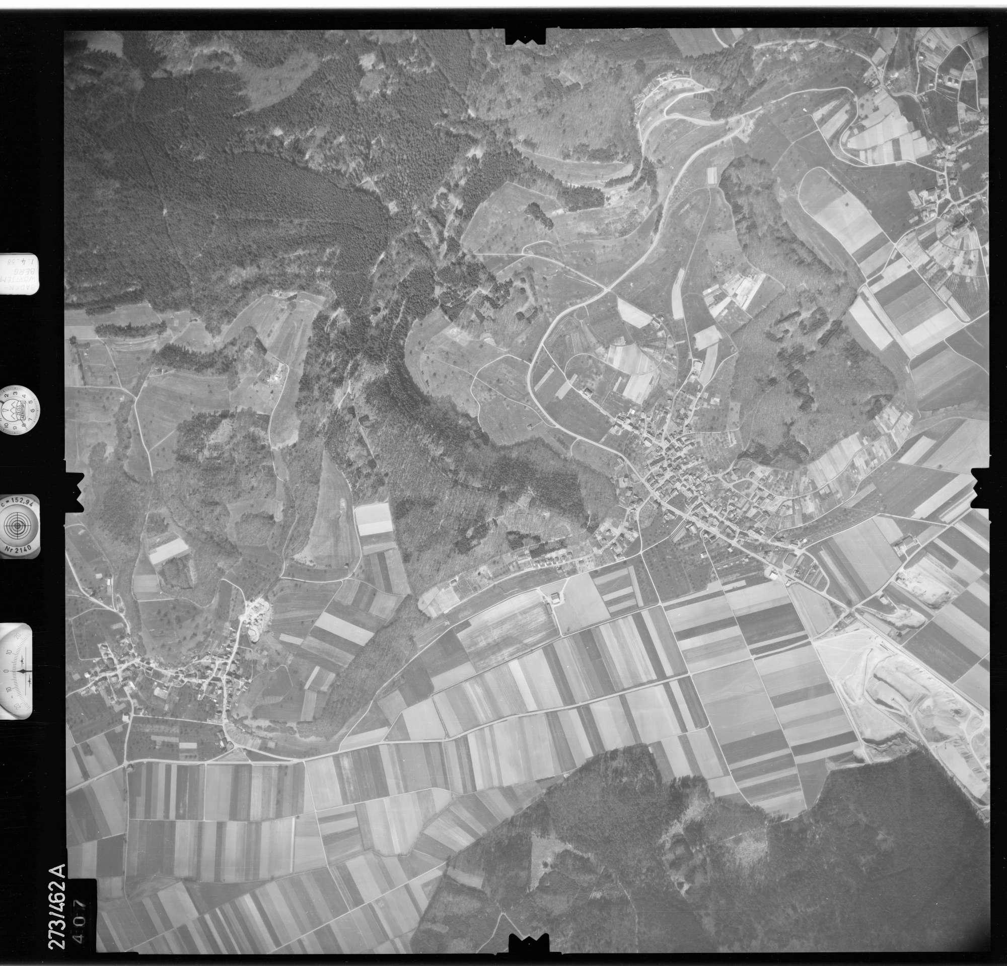 Luftbild: Film 81 Bildnr. 407, Bild 1