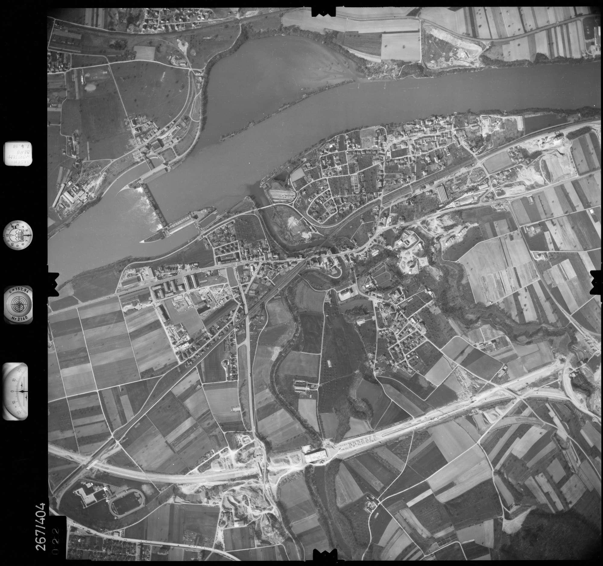 Luftbild: Film 83 Bildnr. 22, Bild 1