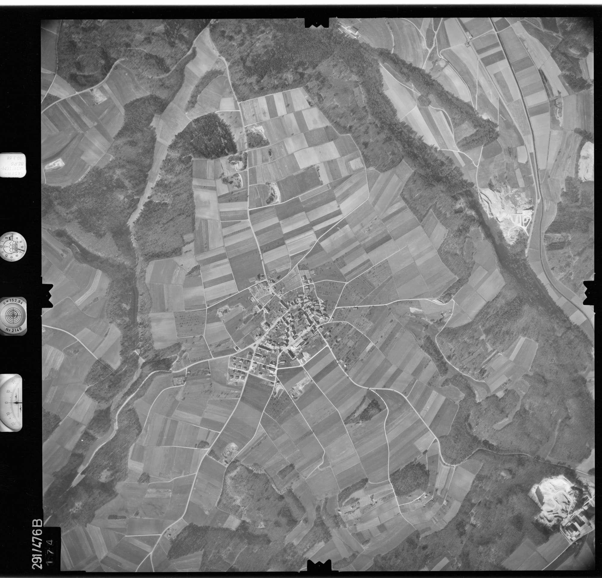 Luftbild: Film 78 Bildnr. 174, Bild 1