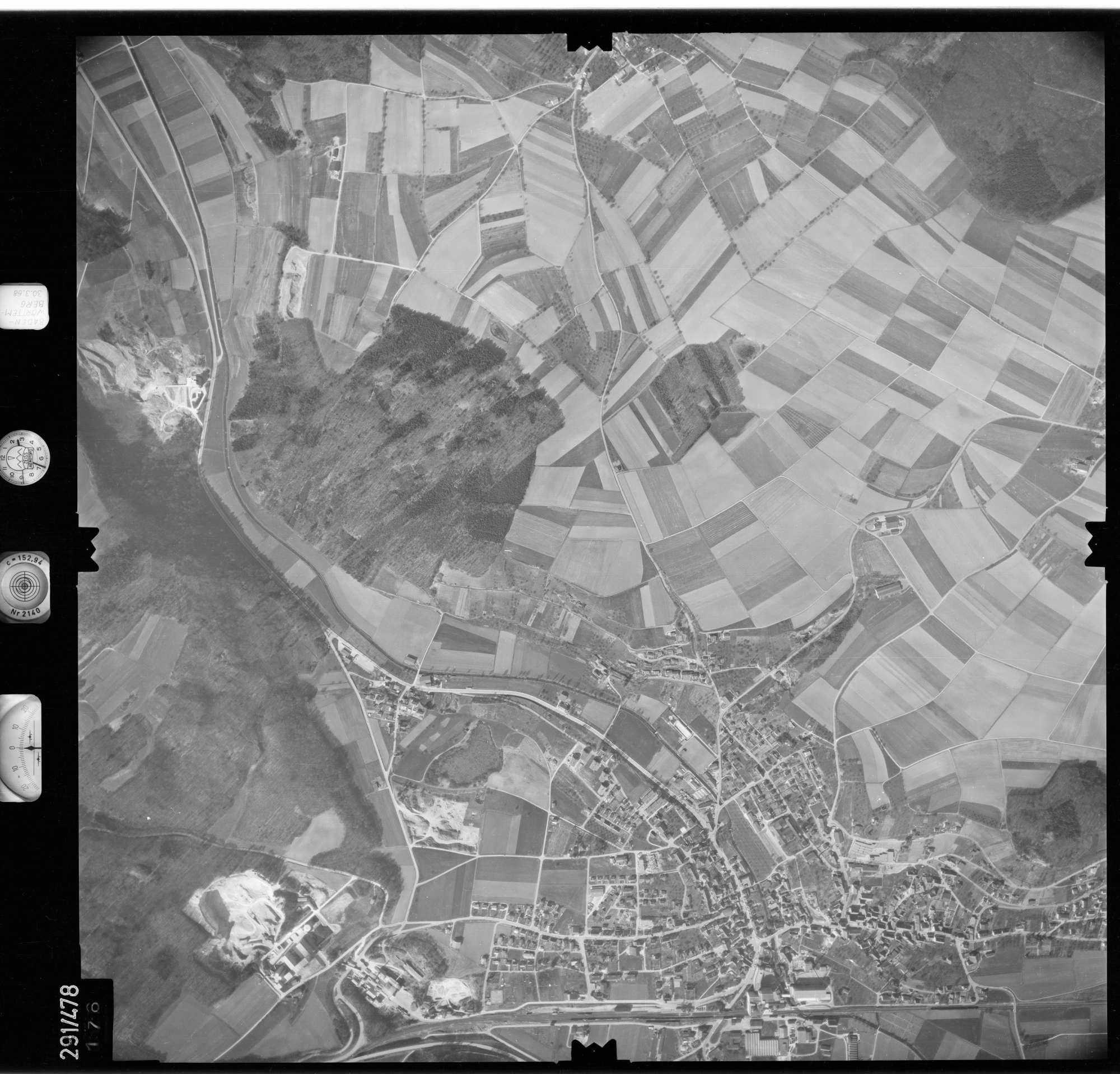 Luftbild: Film 78 Bildnr. 176, Bild 1