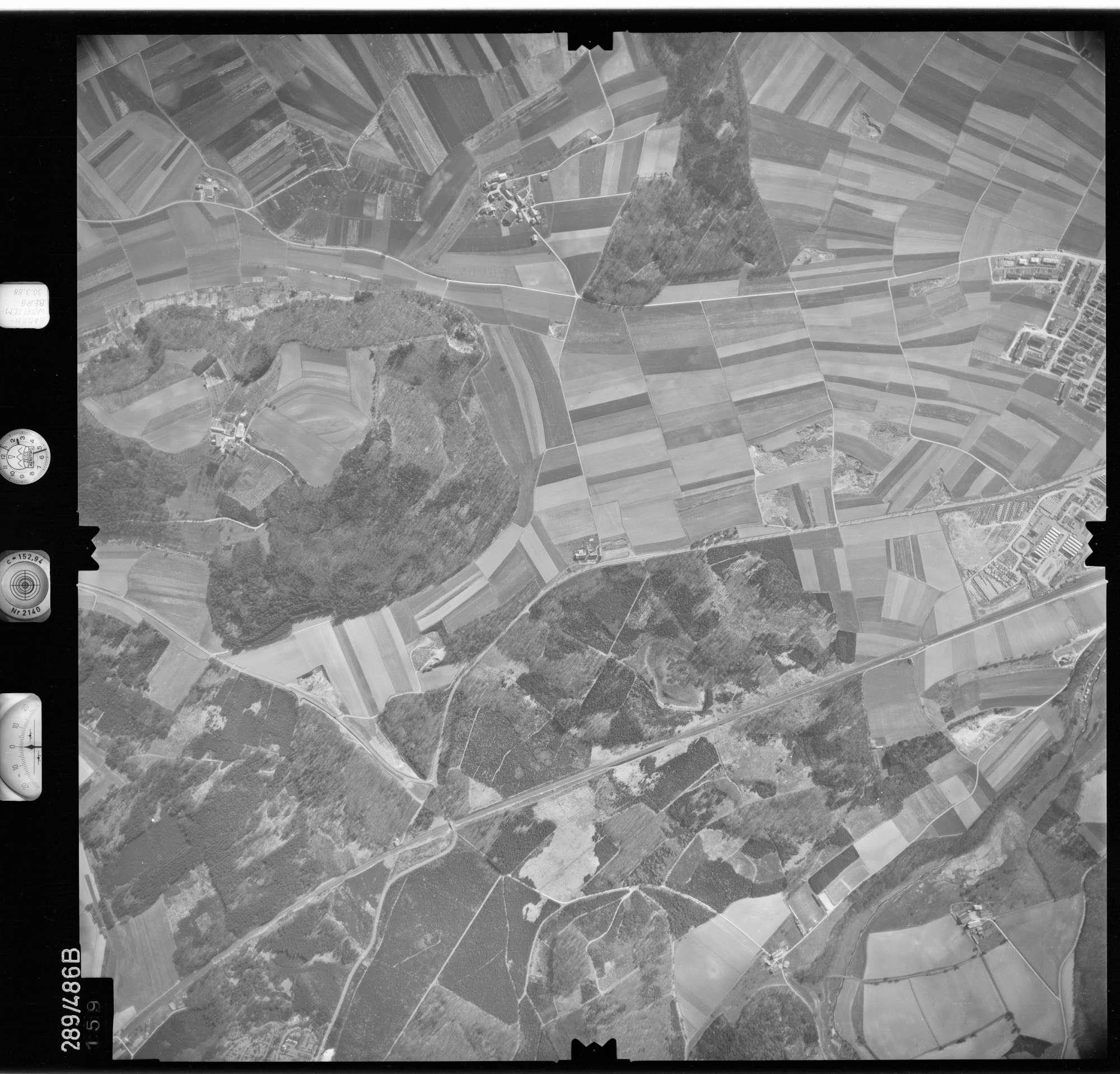 Luftbild: Film 78 Bildnr. 159, Bild 1