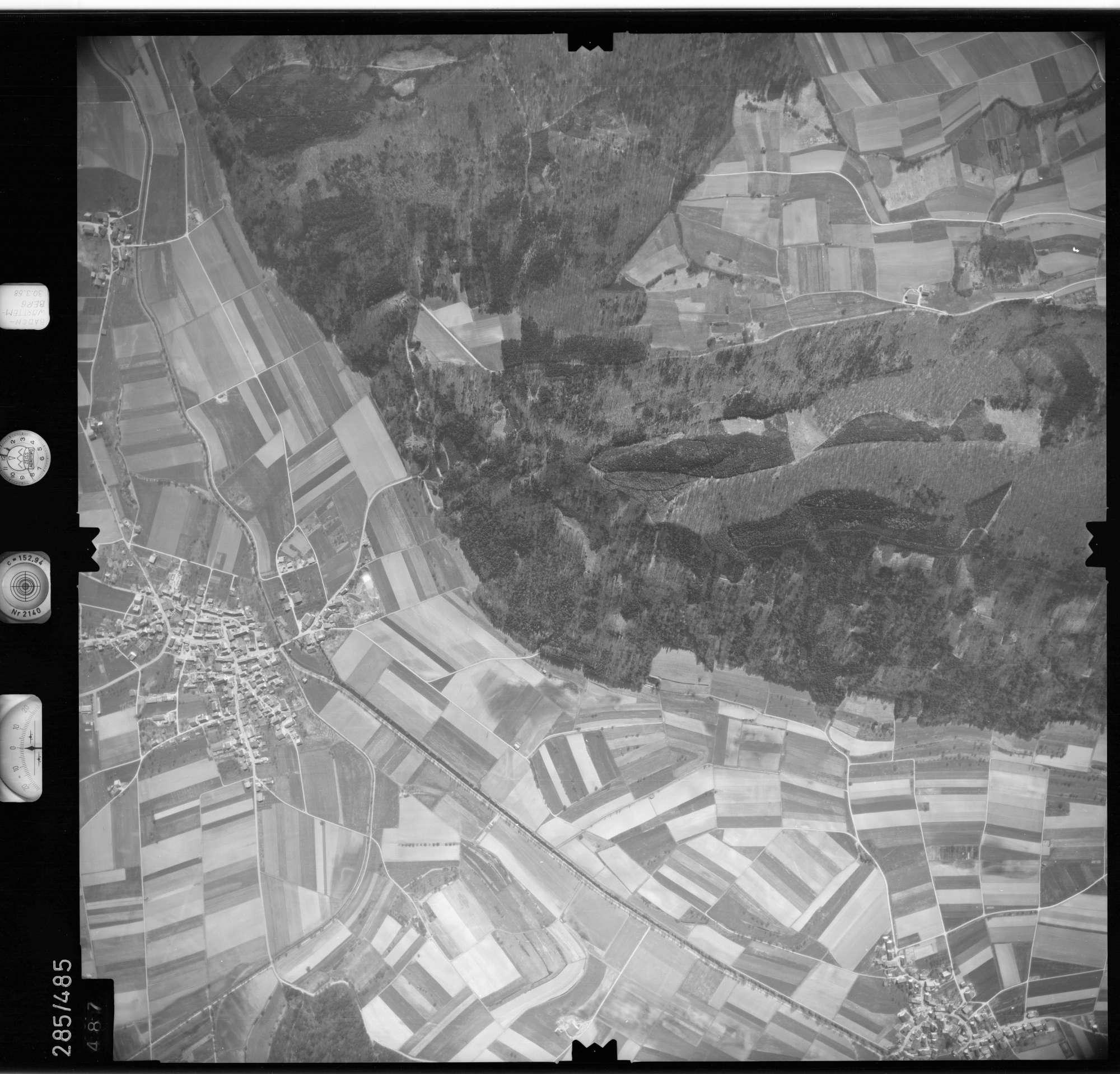 Luftbild: Film 79 Bildnr. 487, Bild 1
