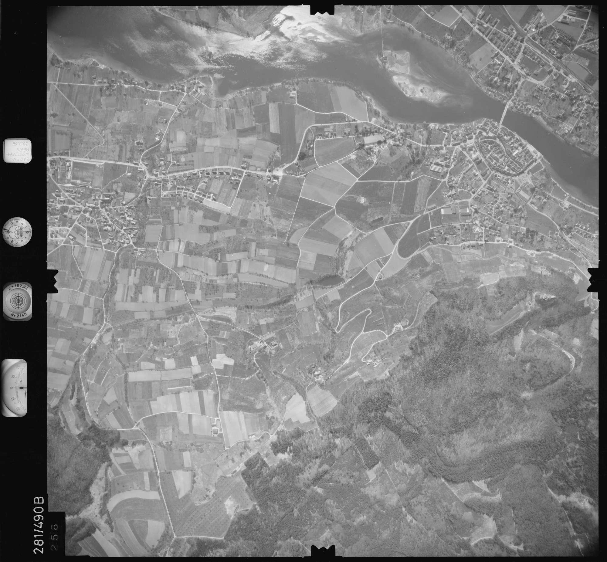 Luftbild: Film 27 Bildnr. 256, Bild 1