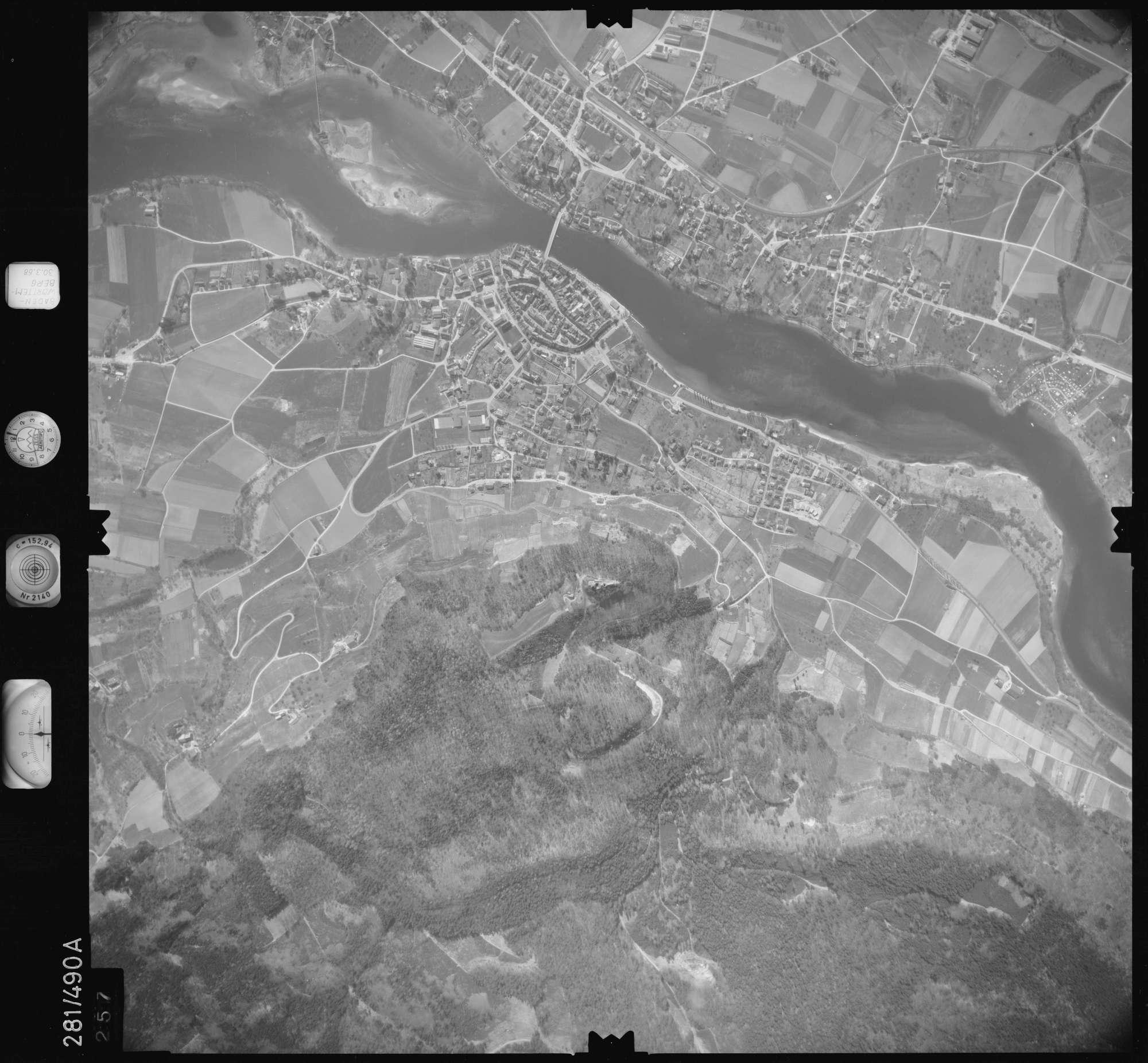Luftbild: Film 27 Bildnr. 257, Bild 1
