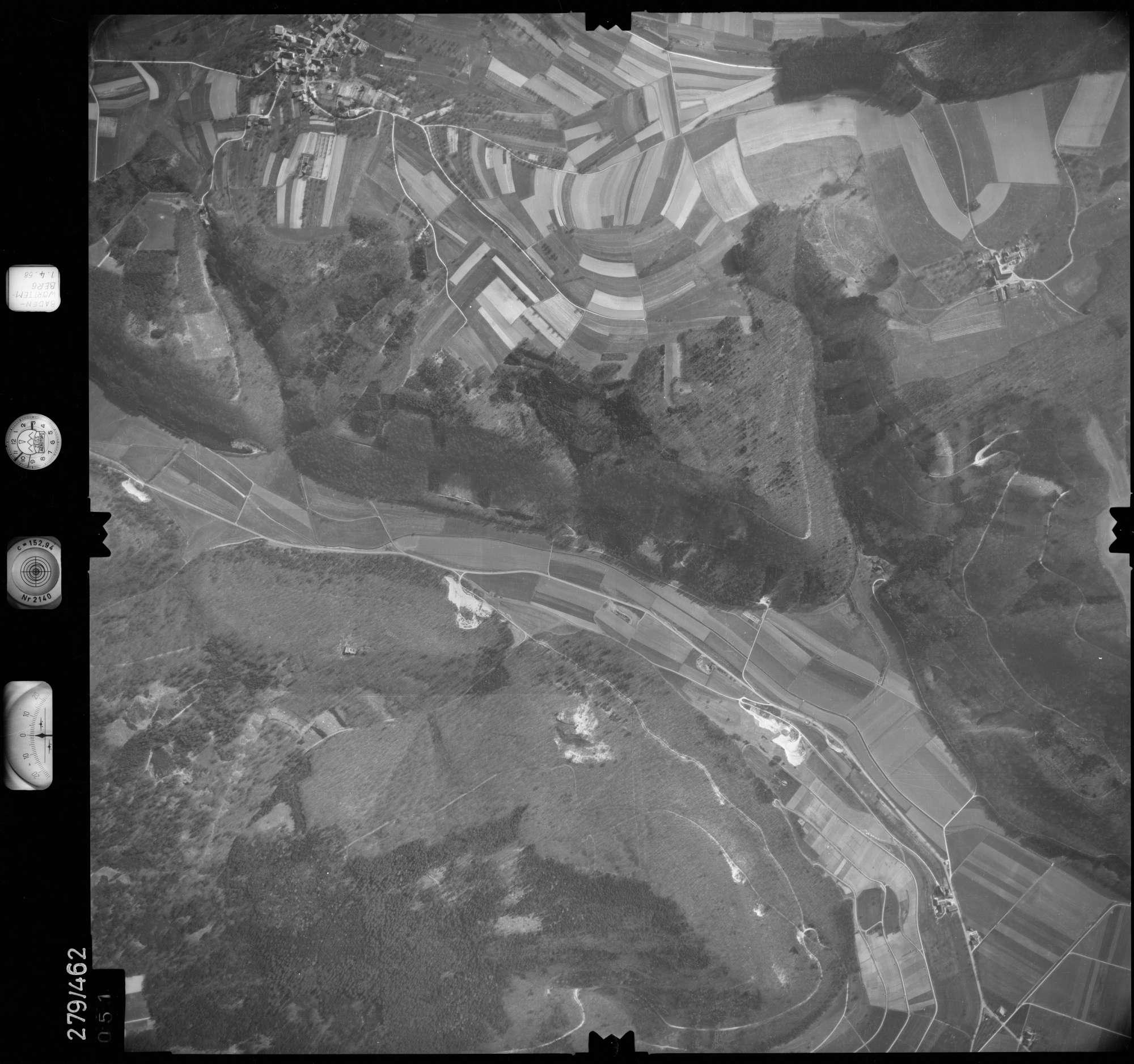 Luftbild: Film 83 Bildnr. 51, Bild 1