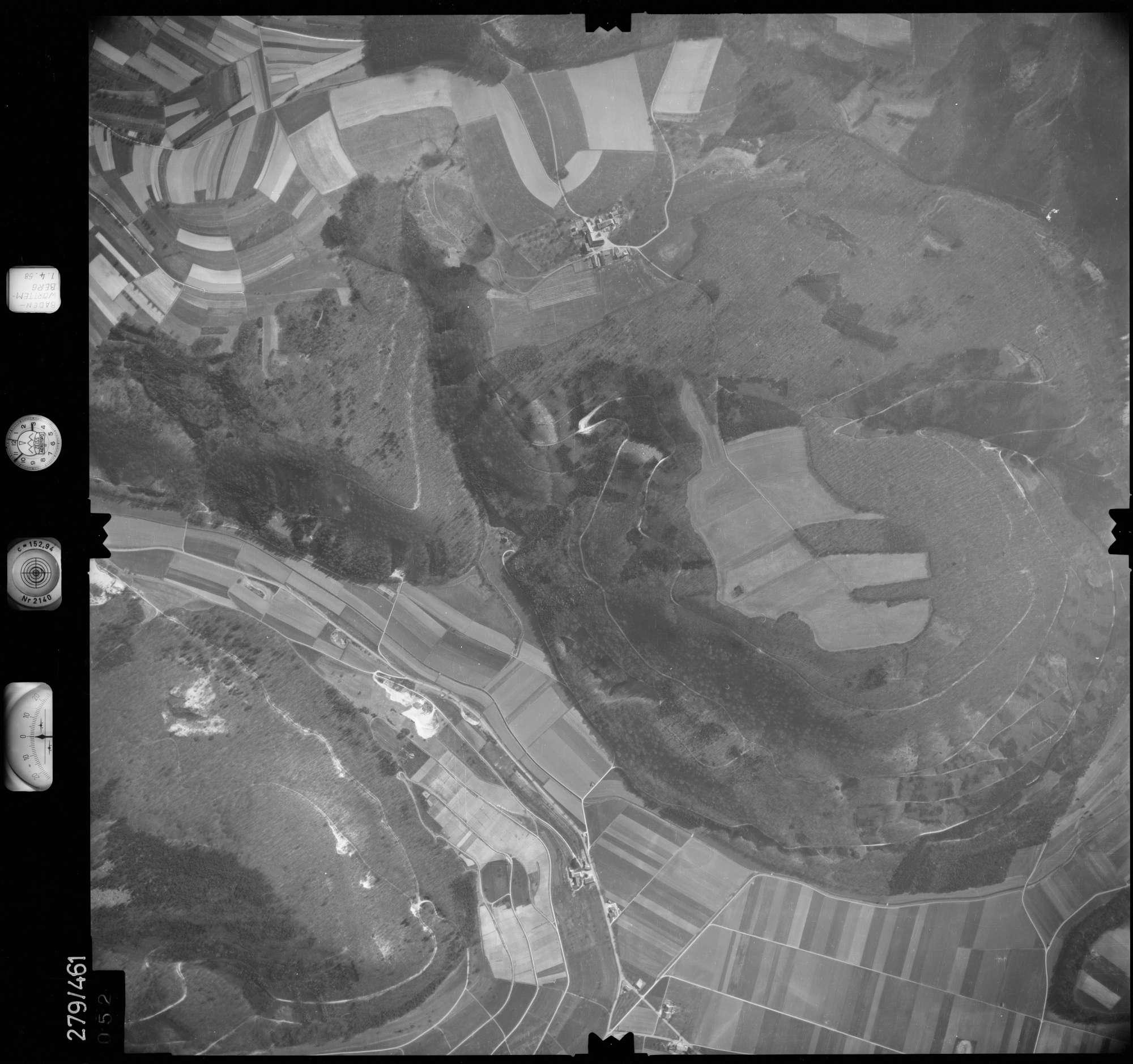 Luftbild: Film 83 Bildnr. 52, Bild 1