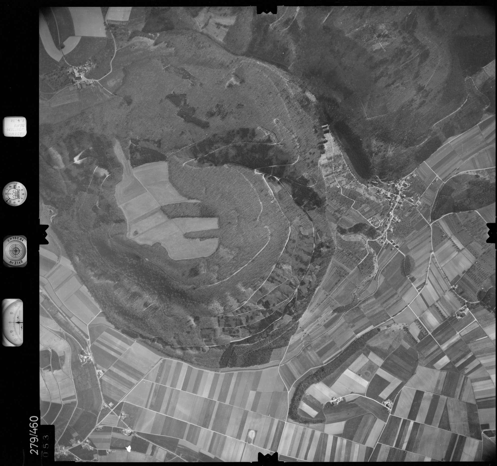 Luftbild: Film 83 Bildnr. 53, Bild 1